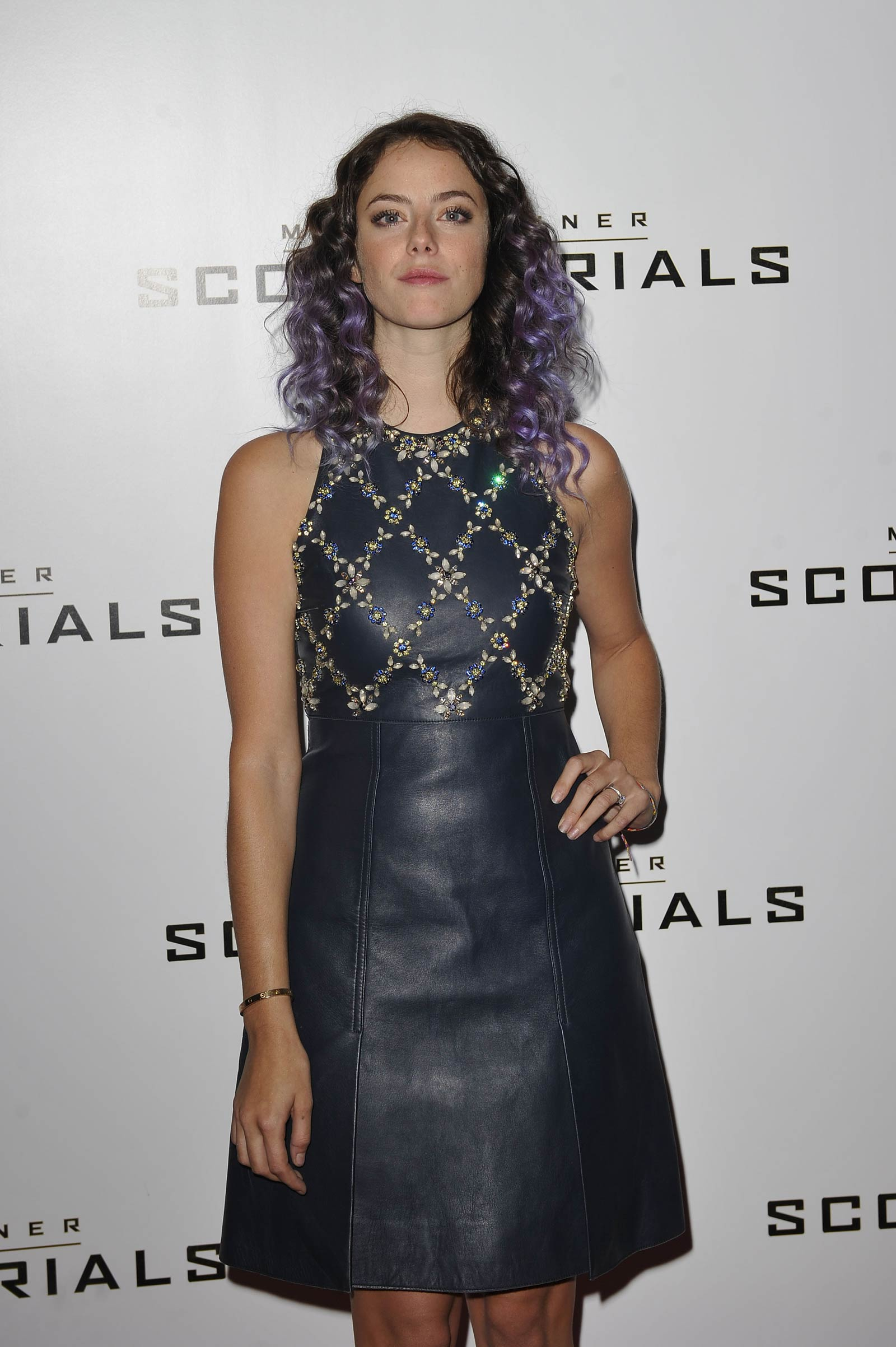 Kaya Scodelario attends Maze Runner The Scorch Trials premiere