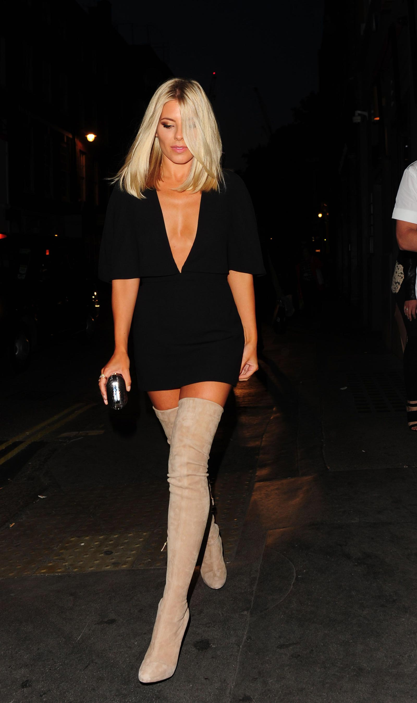 Mollie King attends Notion Magazine x Swatch launch party