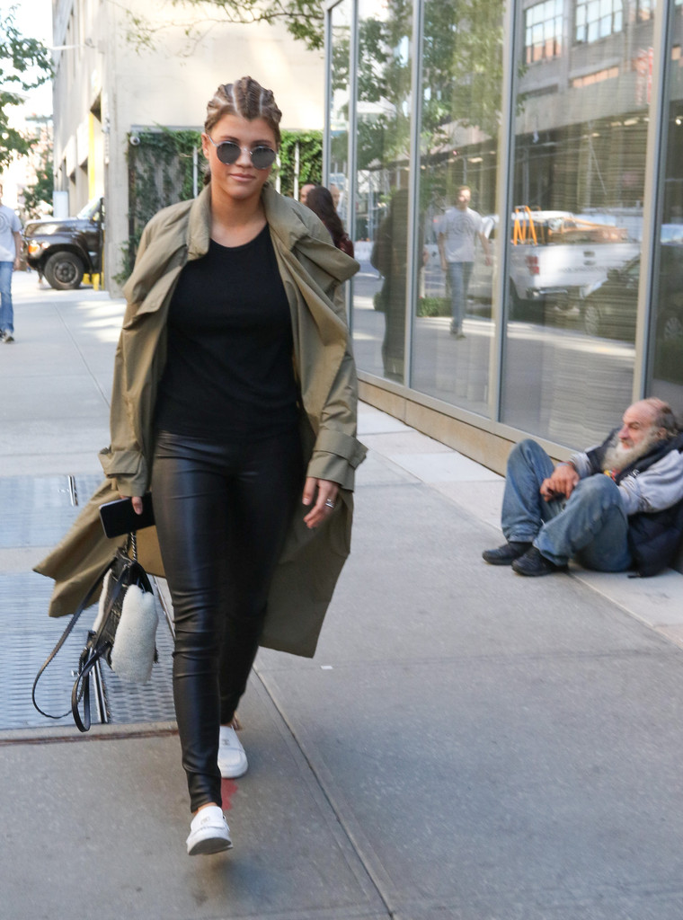 Sofia Richie out in NYC