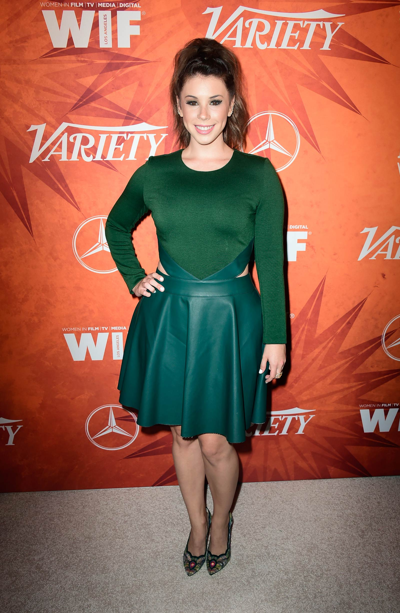 Jillian Rose Reed attends 2015 Entertainment Weekly Pre-Emmy Party