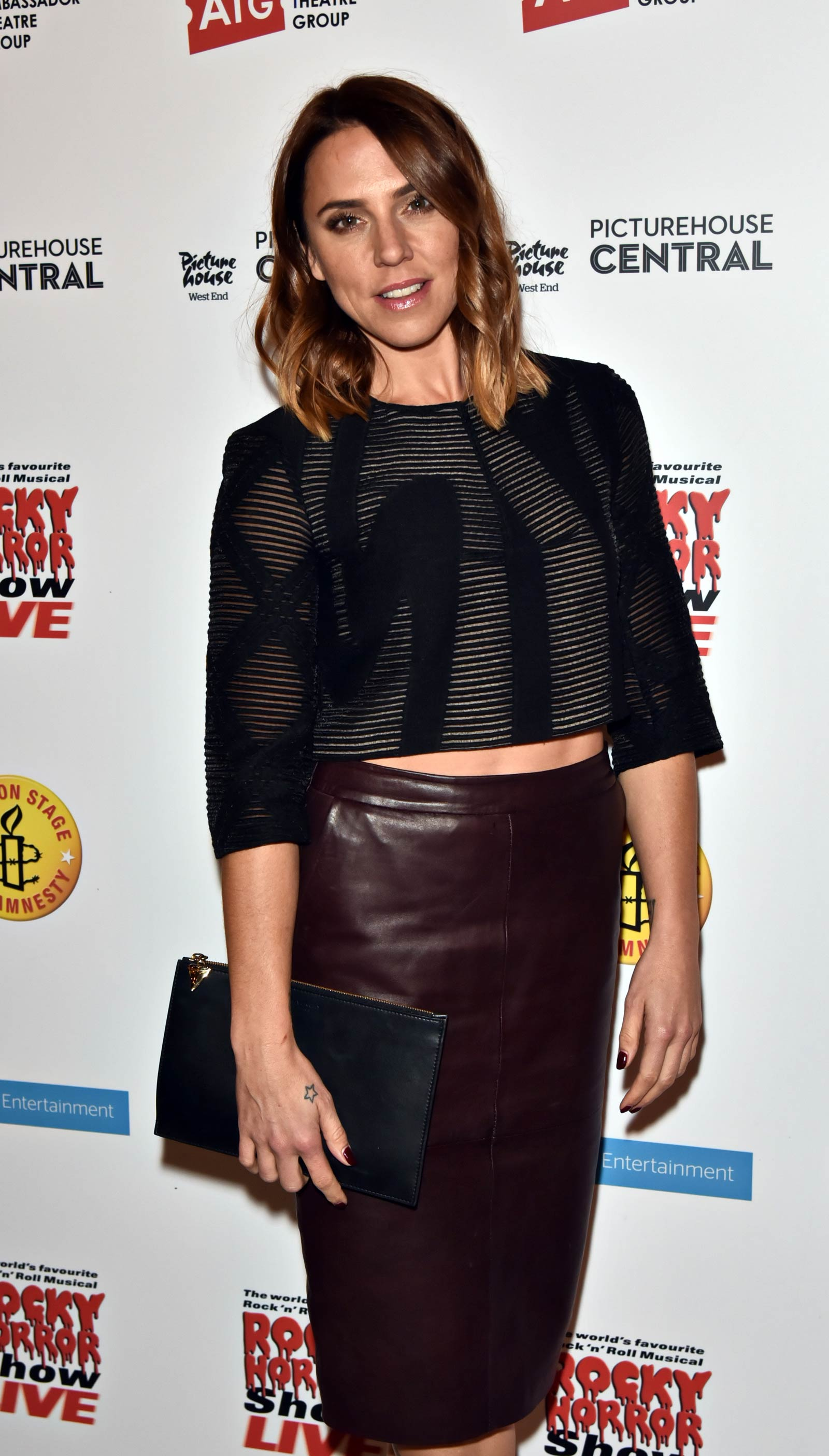 Melanie Chisholm attends Rocky Horror Show Live show party