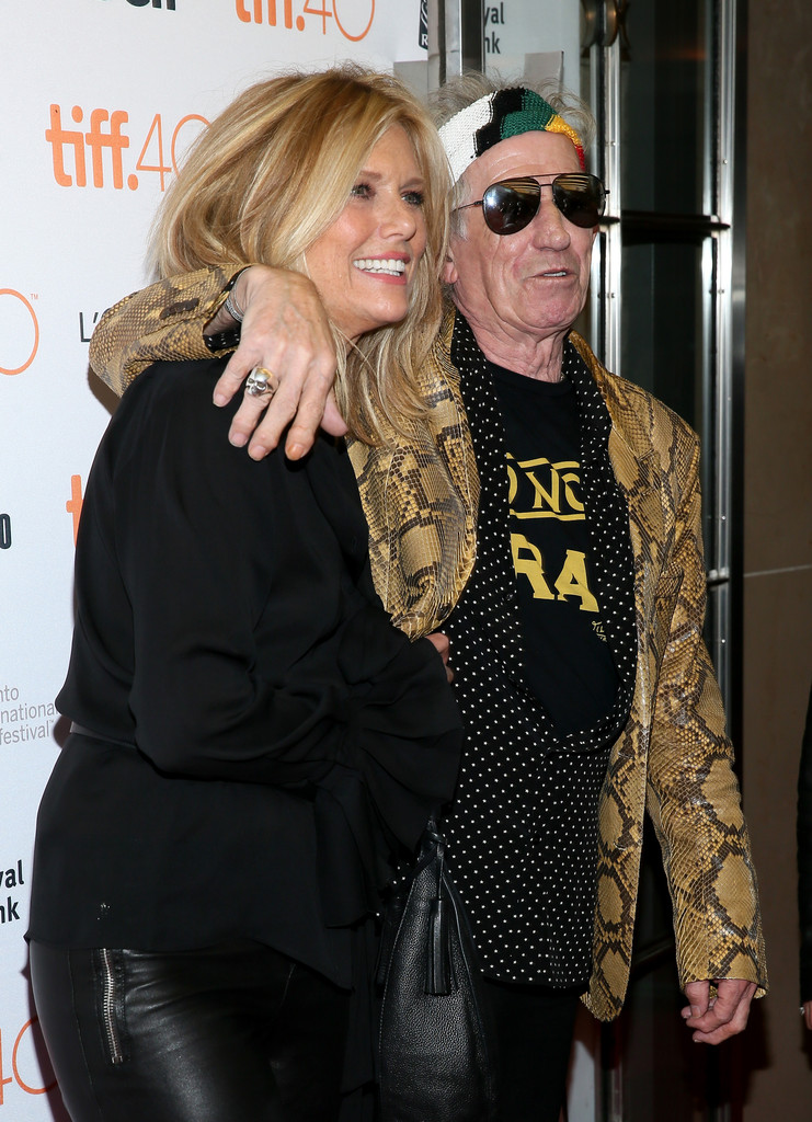 """Patti Hansen attends the """"Keith Richards: Under The Influence"""" premiere"""