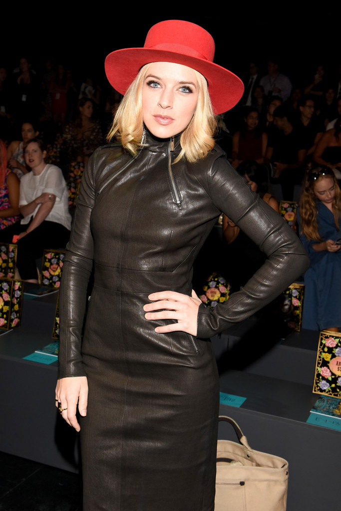 ZZ Ward attends Anna Sui Spring 2016