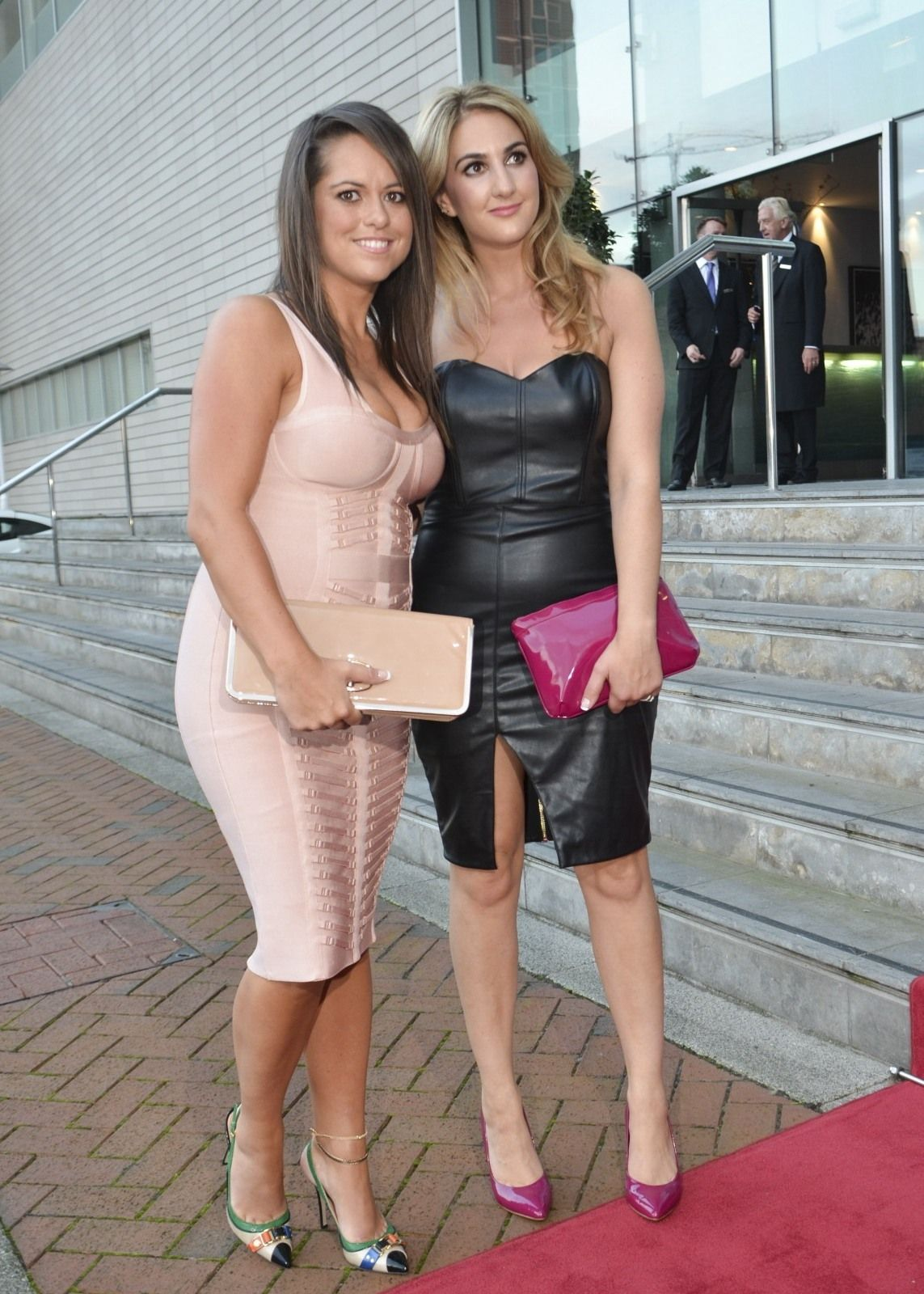 Nicolette North arrives at the Lowry Hotel