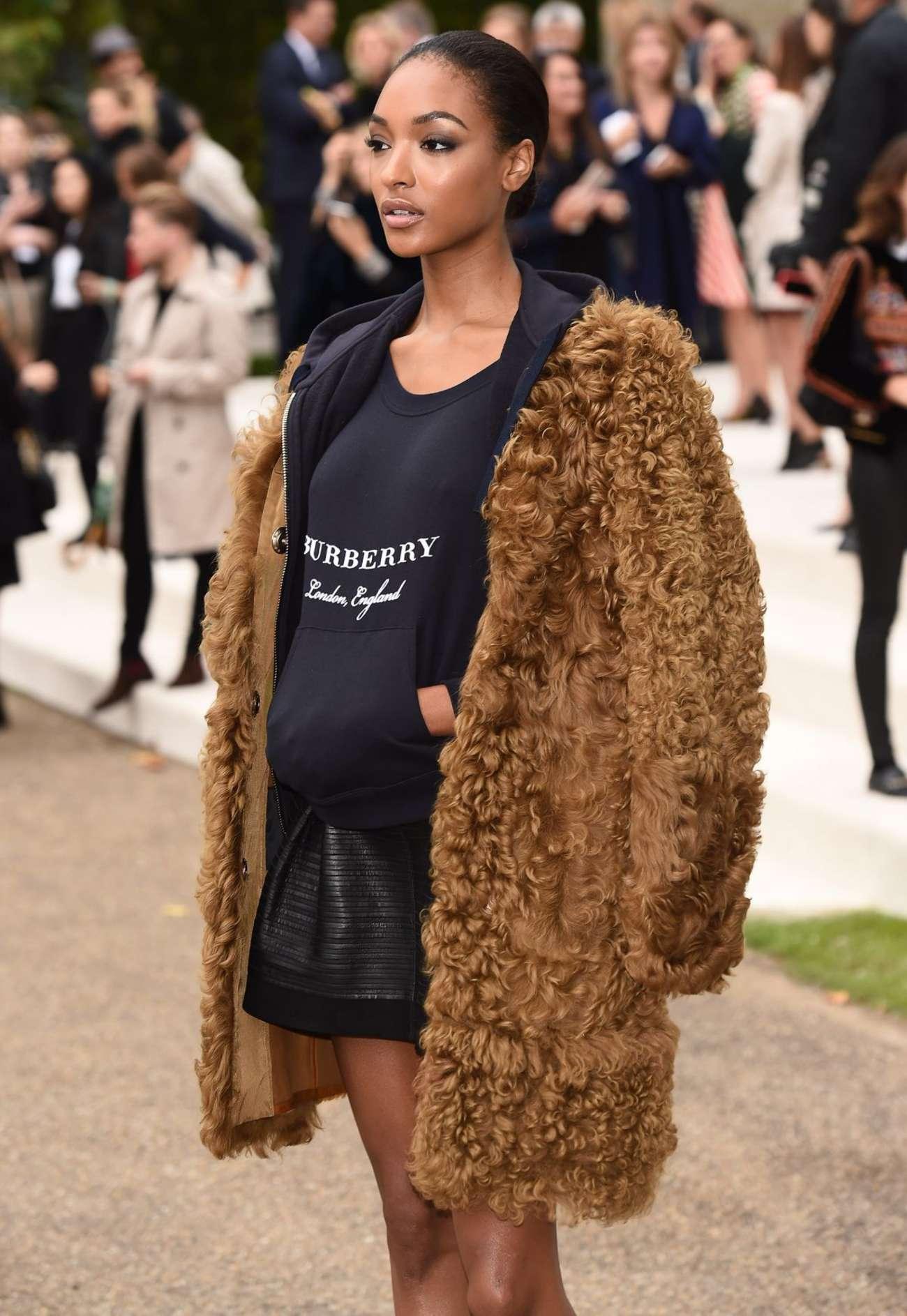Jourdan Dunn attends Burberry Prorsum Fashion Show