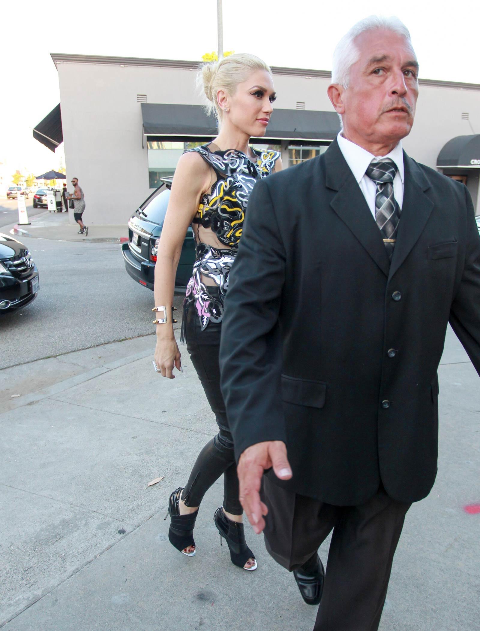 Gwen Stefani out in LA