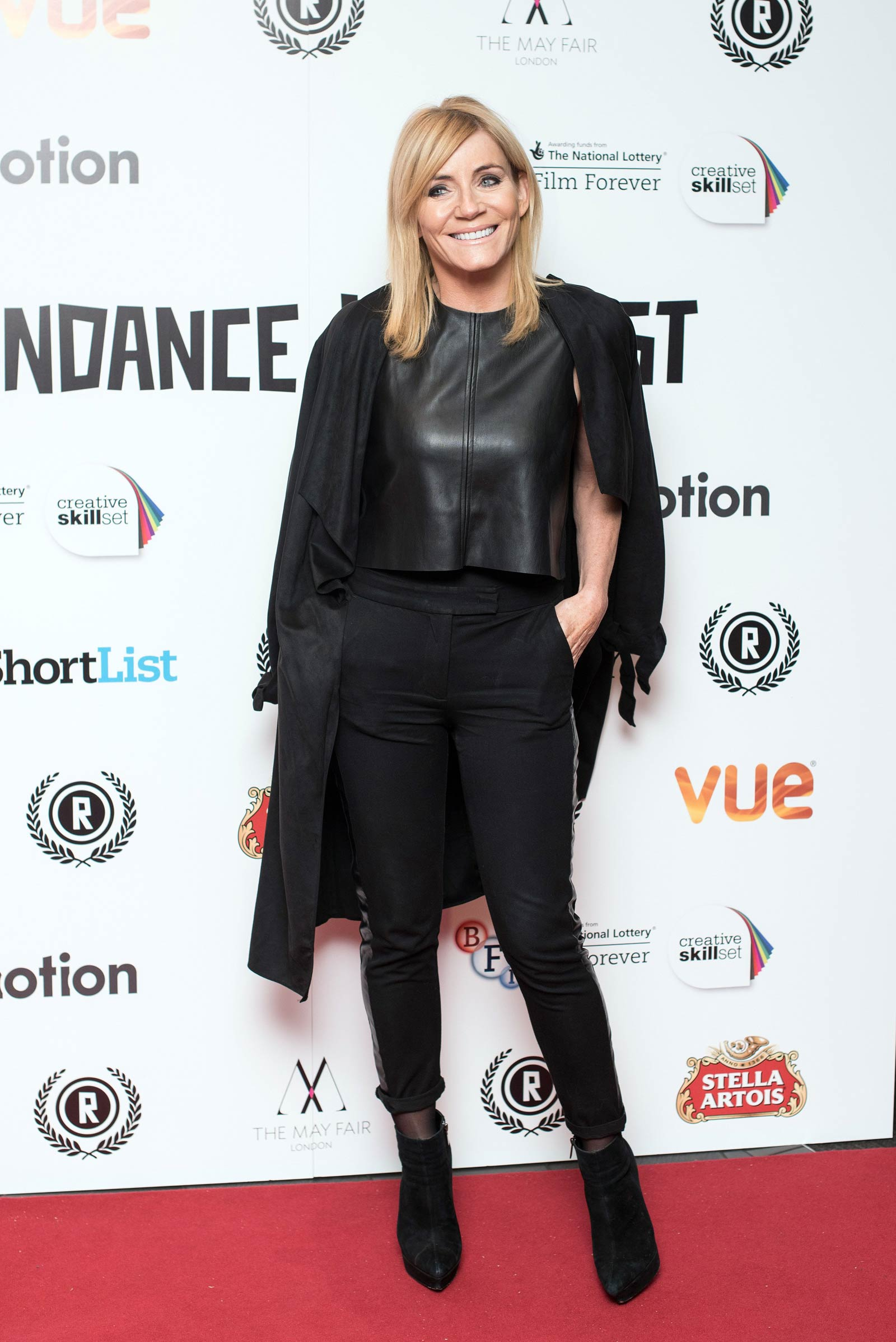 Michelle Collins attends Raindance Opening Night Gala