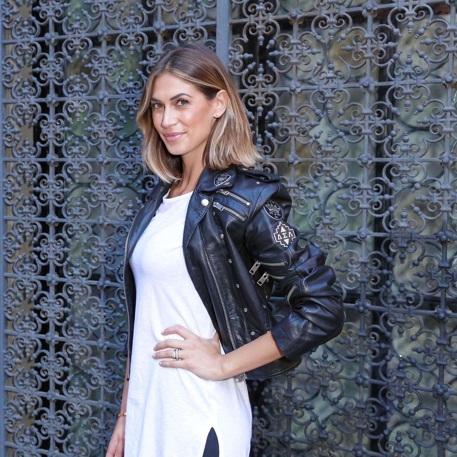Melissa Satta attends Brian Atwood SS 2016 Collection Presentation