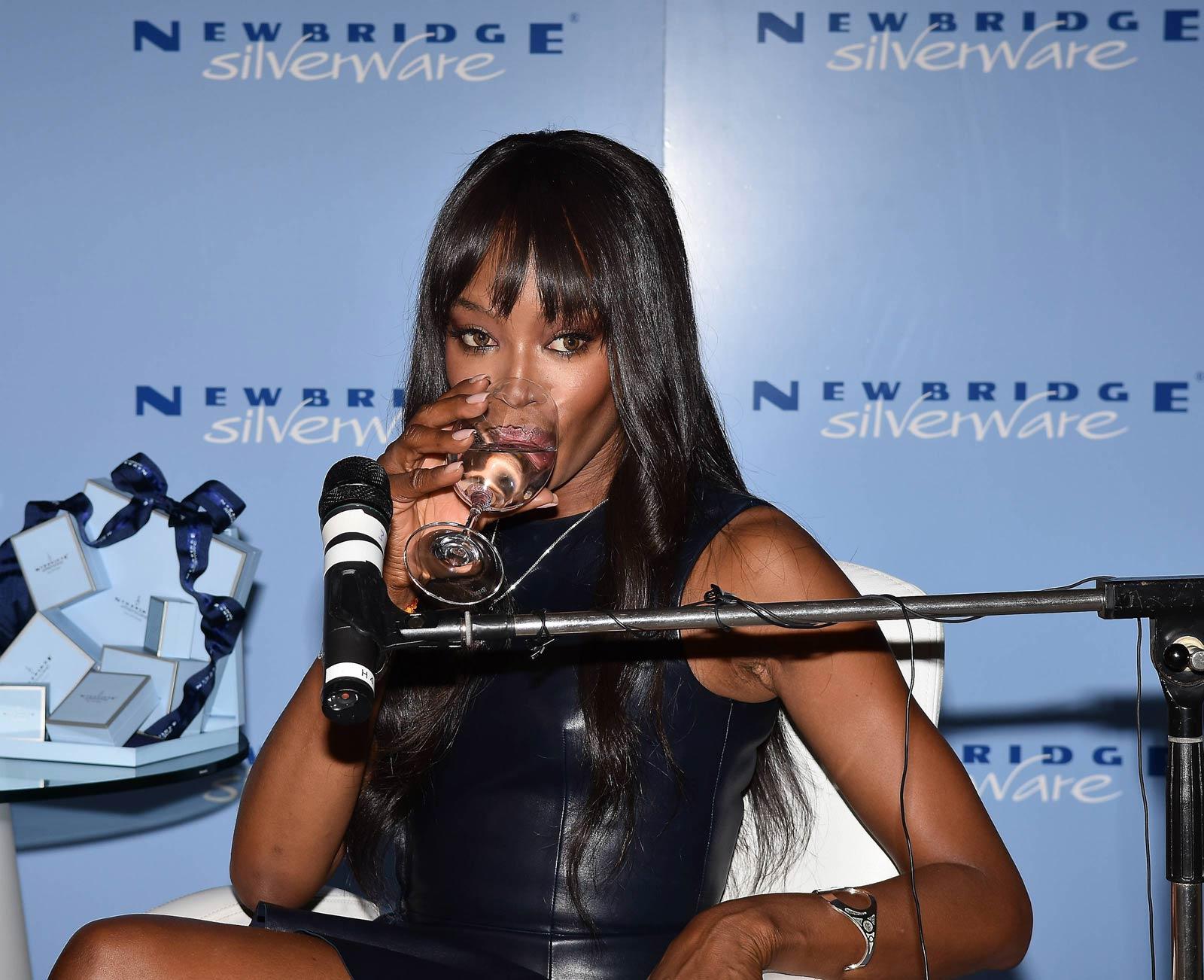 Naomi Campbell revealed as new face of Newbridge Silverware