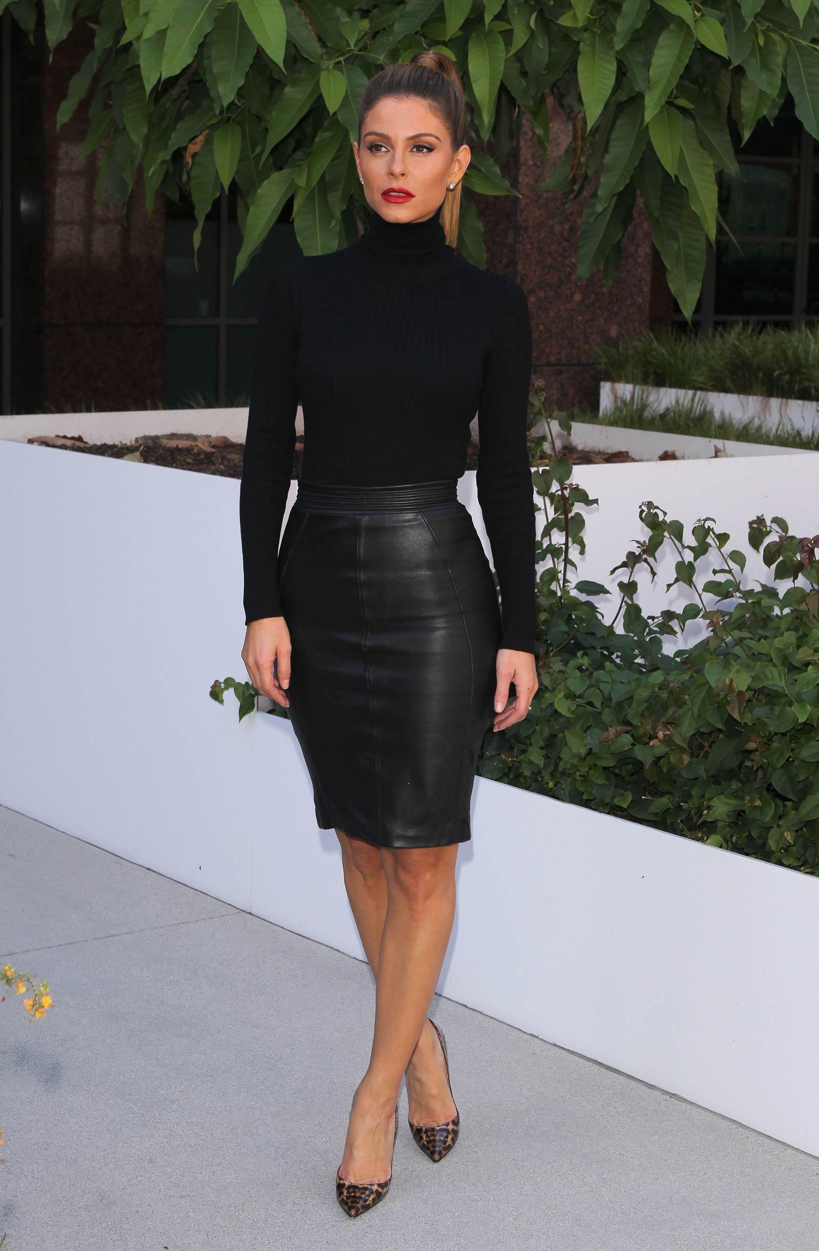 Maria Menounos out in LA