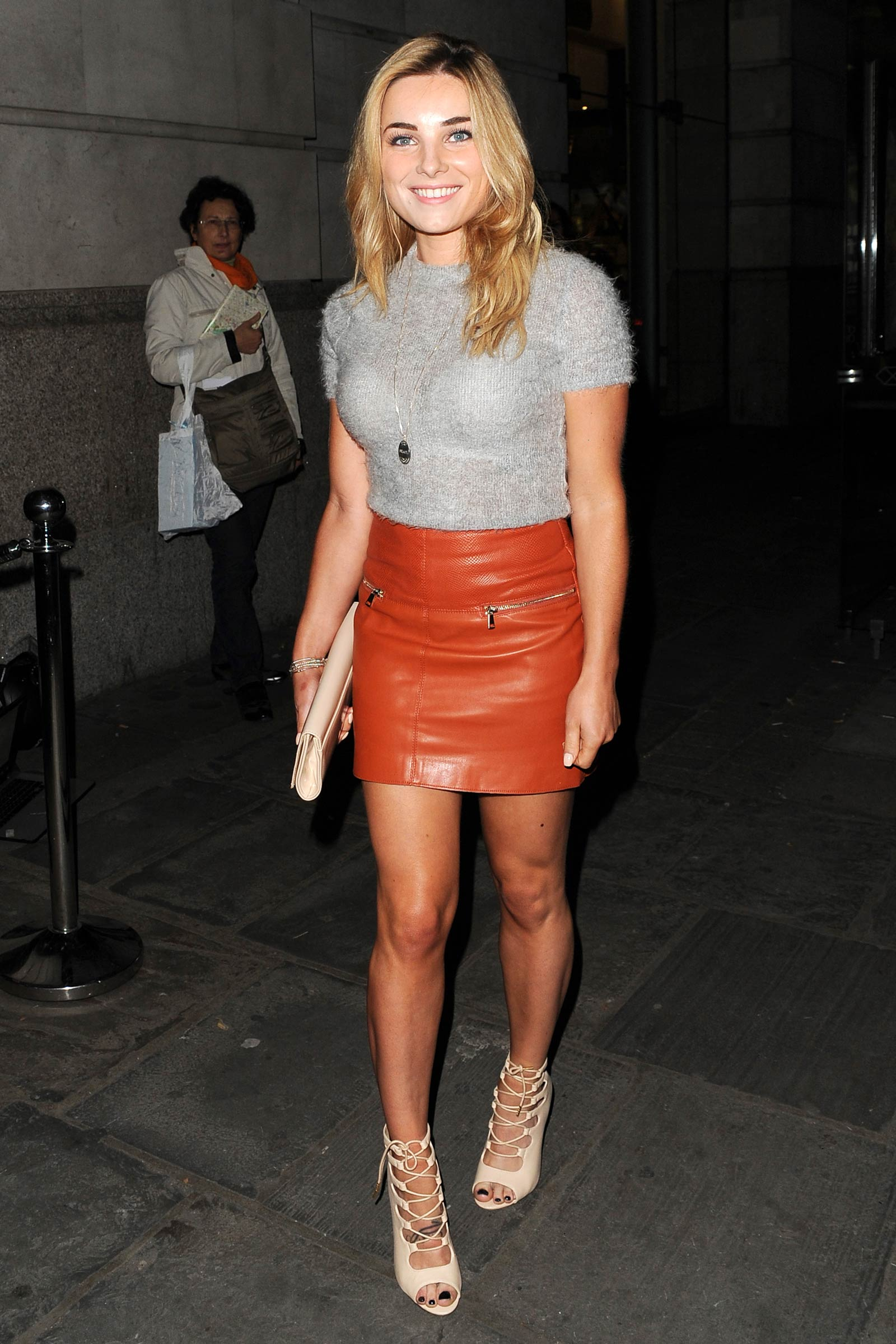 Sian Welby out & about in London