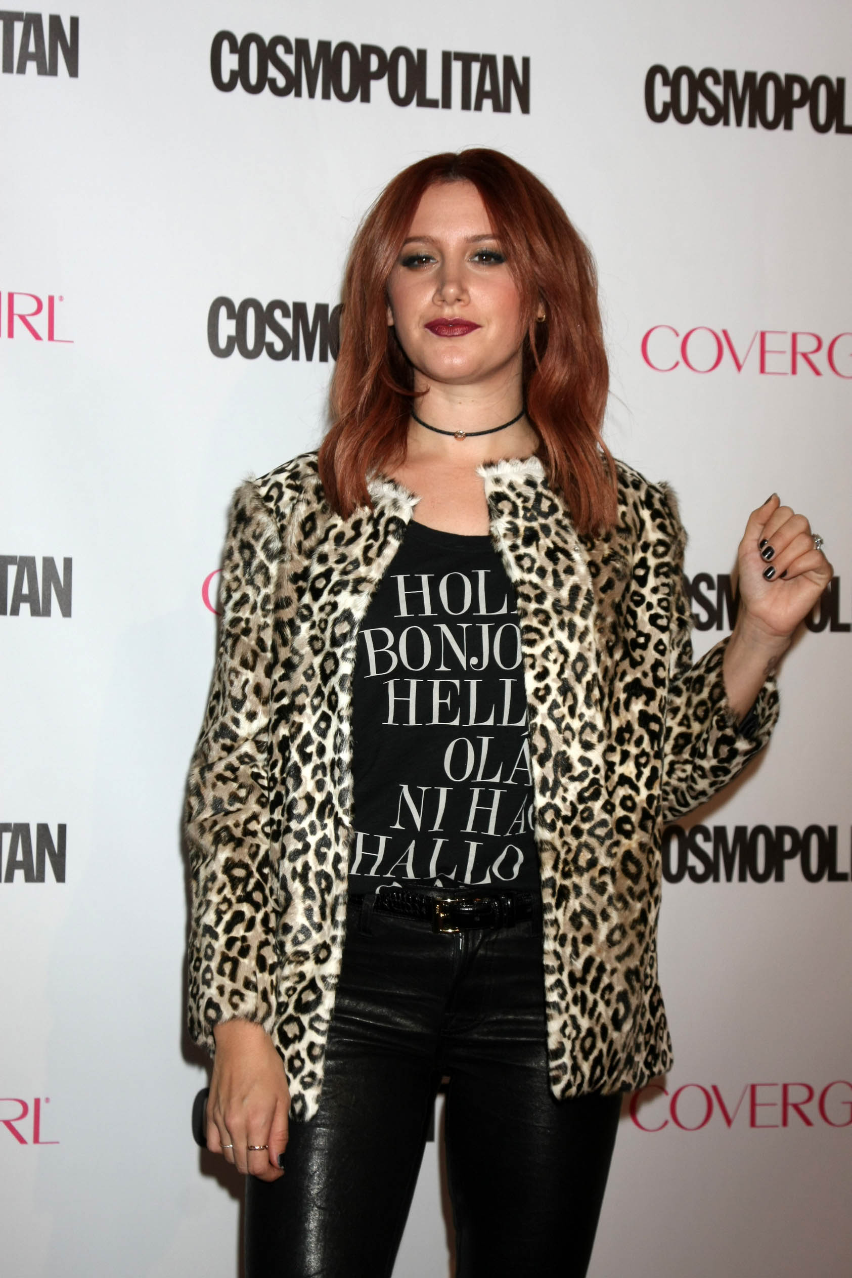 Ashley Tisdale attends Cosmopolitan Magazine's 50th Birthday Celebration