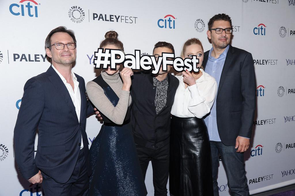 Portia Doubleday at Mr Robot panel held during 2015 PaleyFest