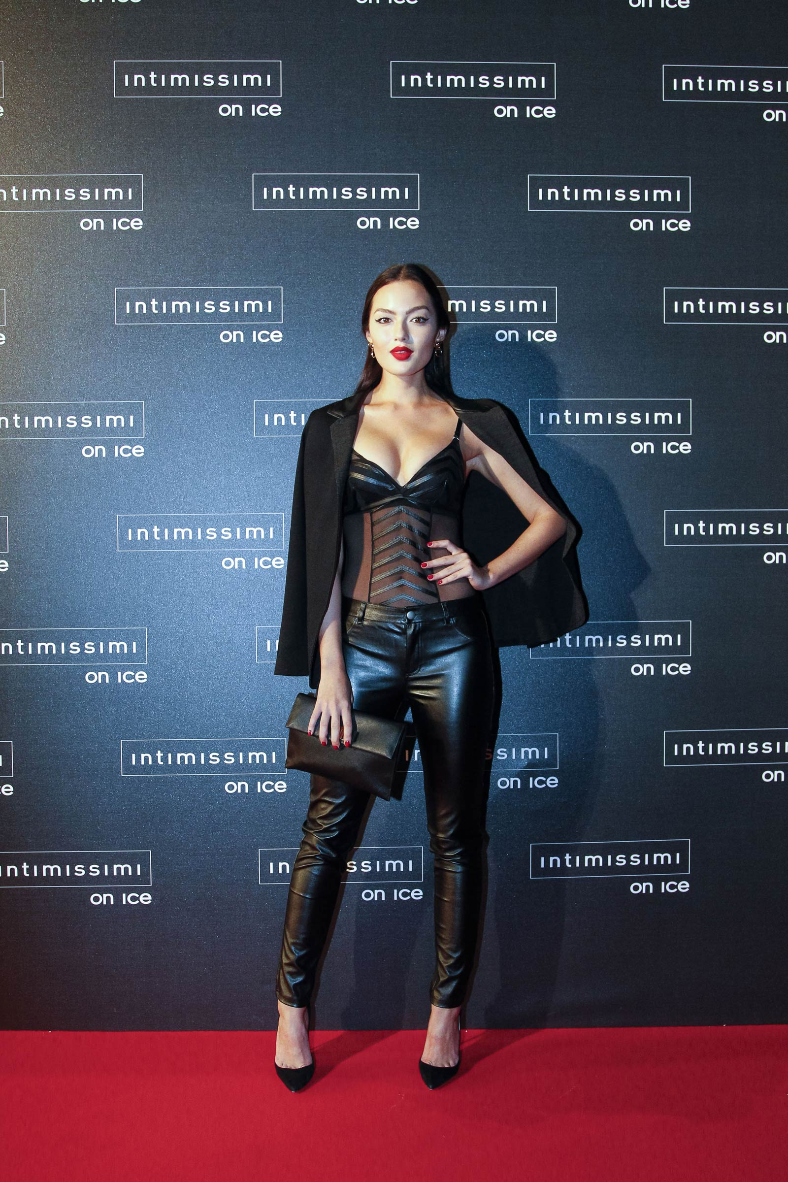 Mia Kang attends Intimissimi On Ice 2015