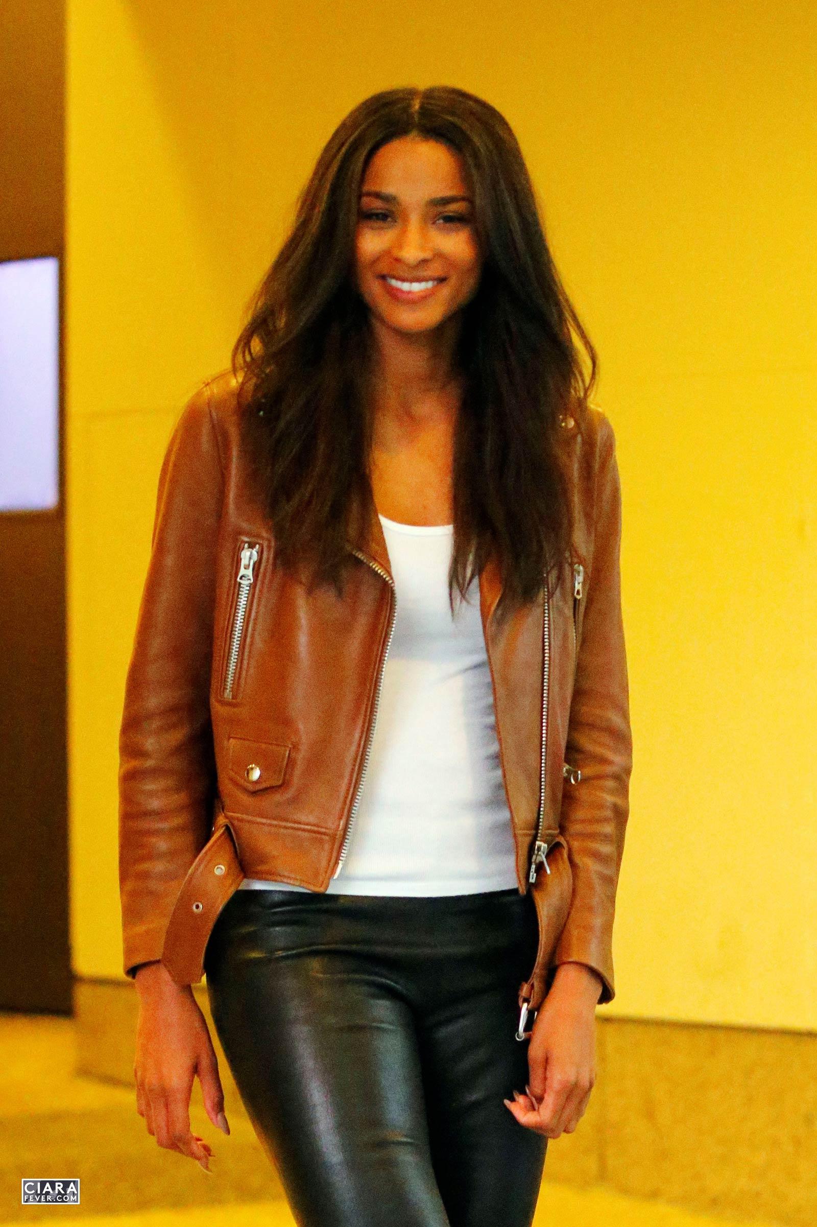 Ciara leaving MTV studios