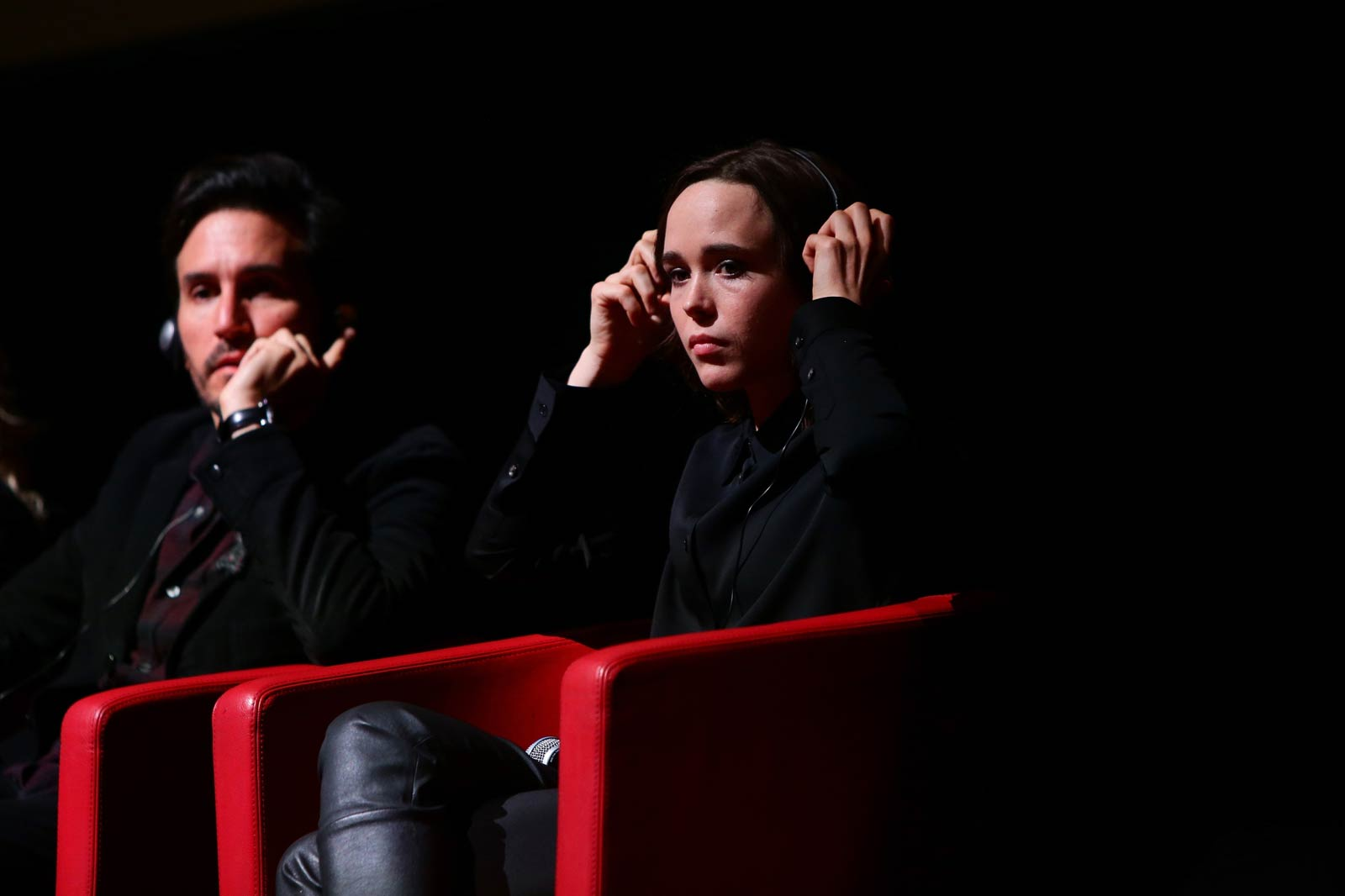 Ellen Page attends Freeheld Press Conference