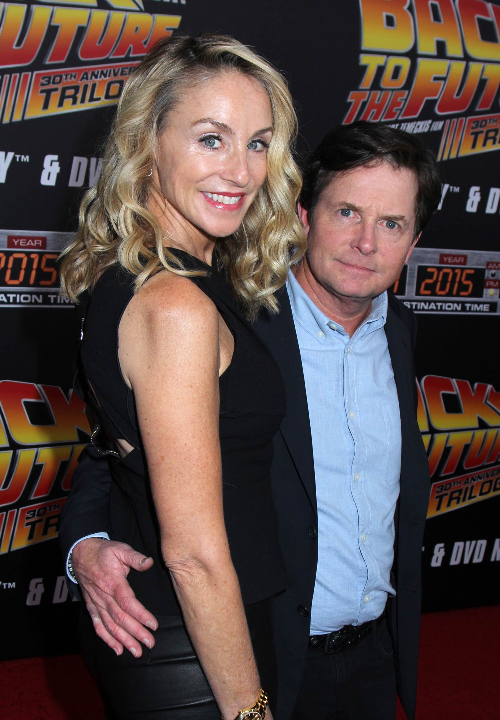 Tracy Pollan attends Back To The Future New York Special Anniversary Screening