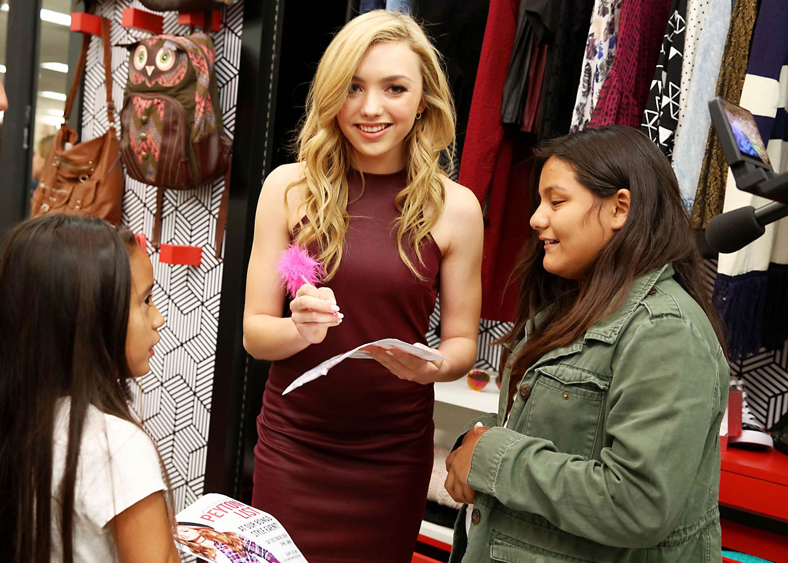 Peyton List hosts Bongo Style Event