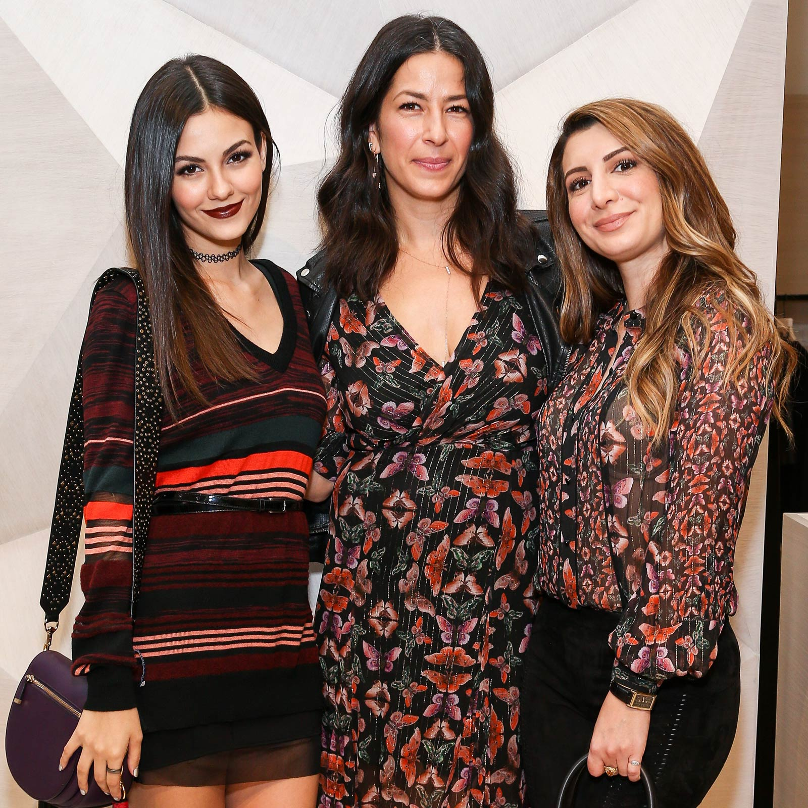 Victoria Justice attends Rebecca Minkoff Flagship Store Opening