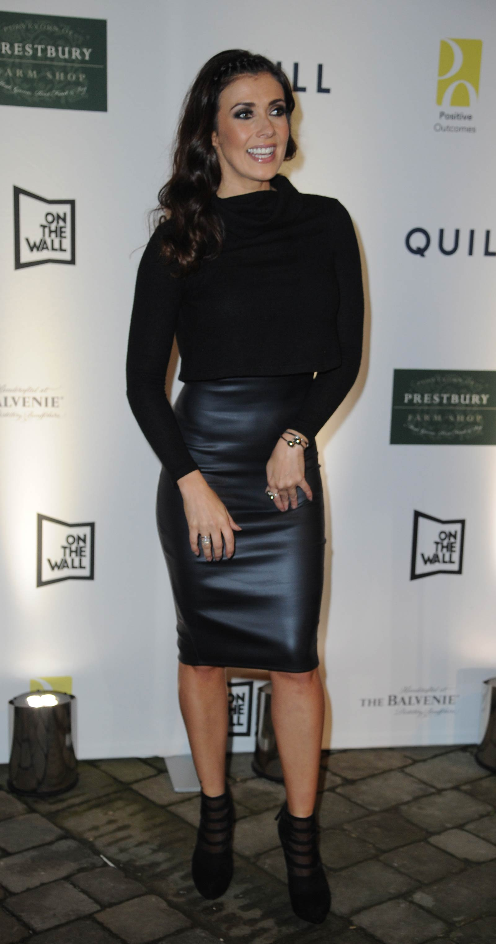 Kym Marsh attends Grand opening of Restaurant Quill