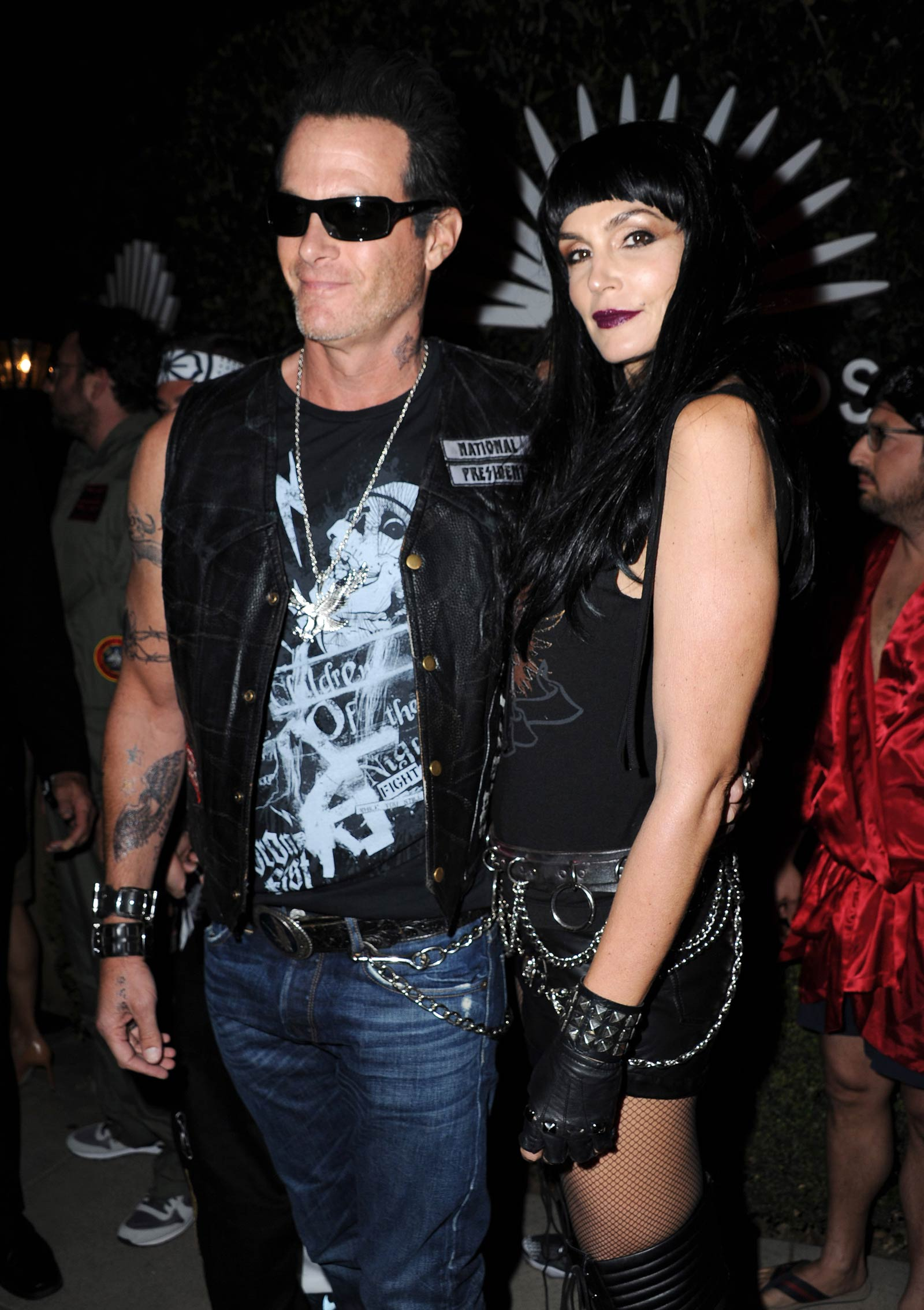 Cindy Crawford attends 2015 Casamigos Tequila Halloween Party