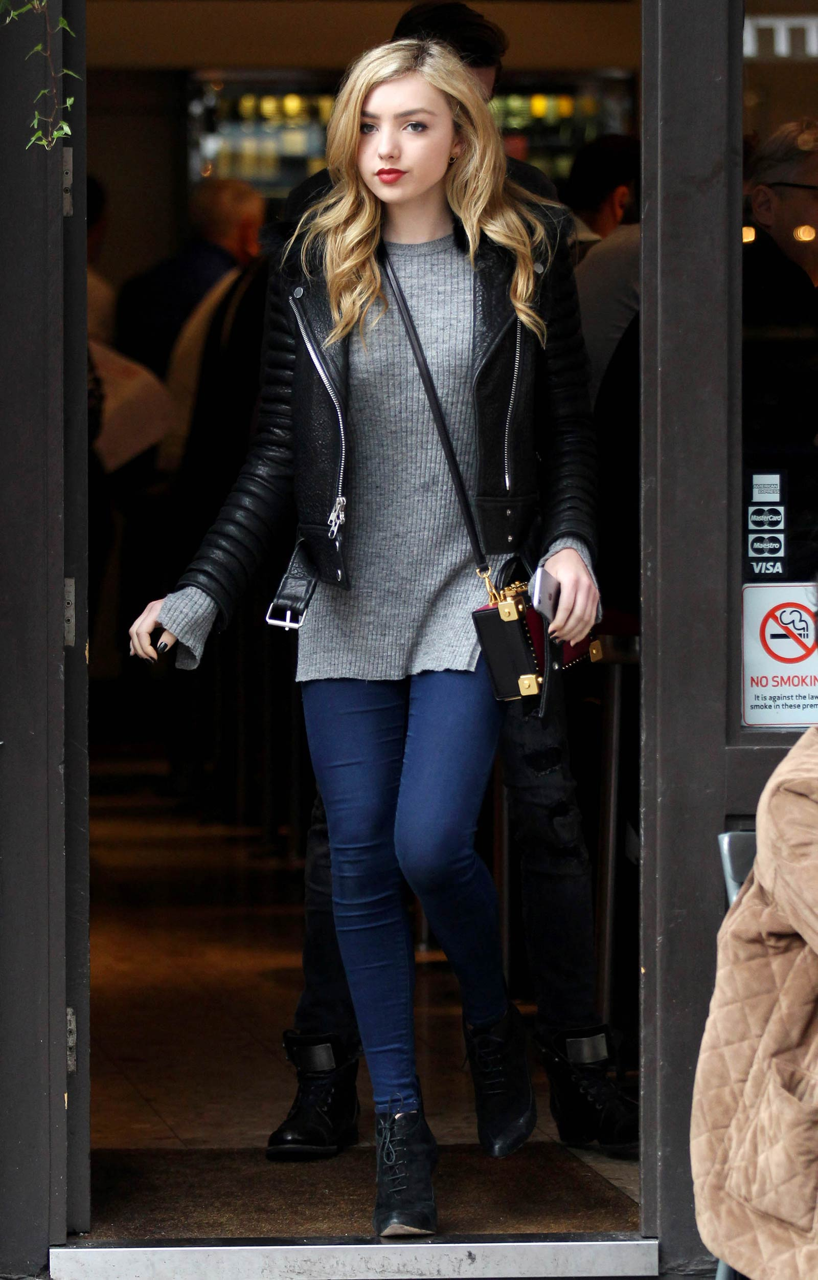 Peyton List out in London