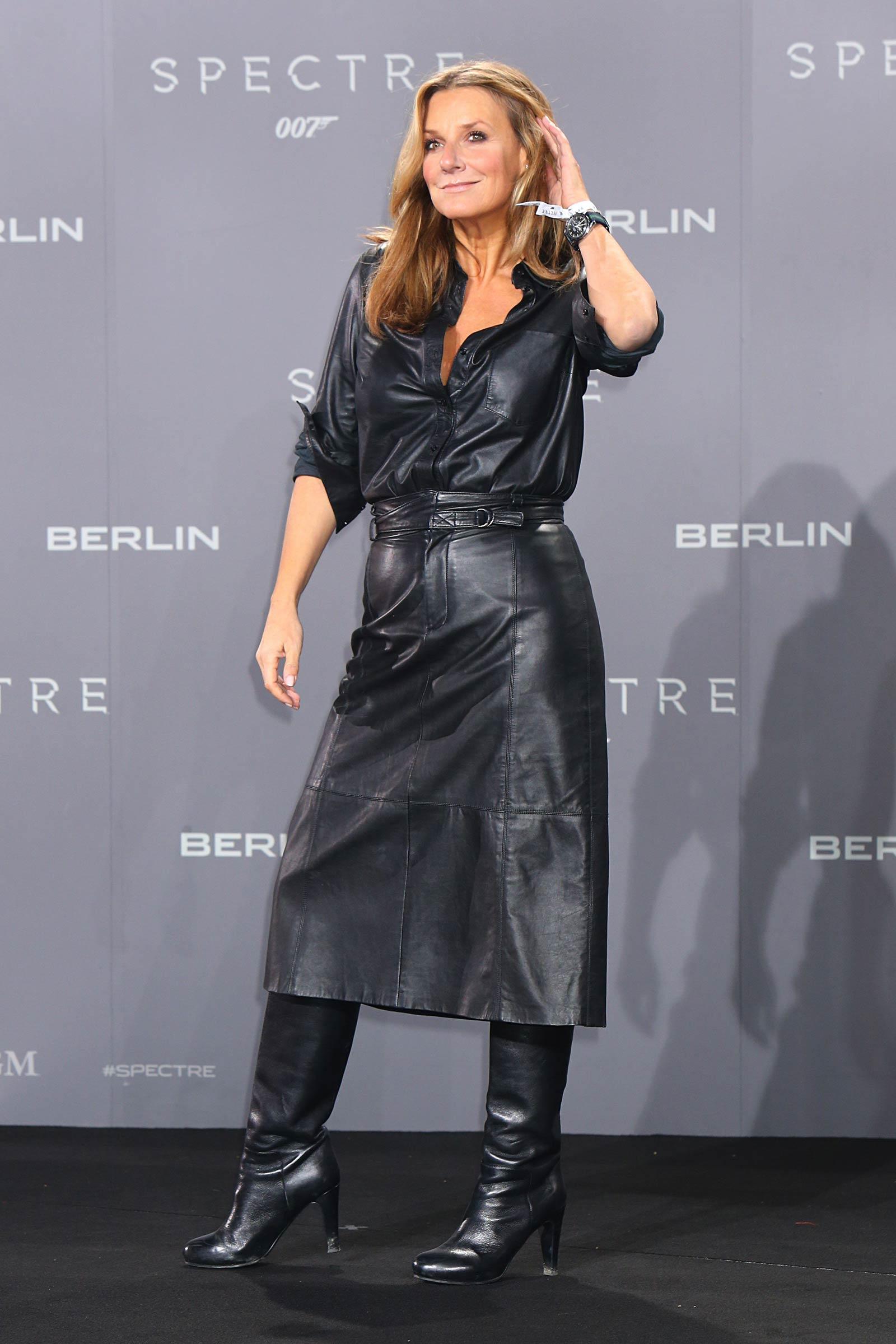 Kim Fischer attends Premiere of Spectre in Berlin