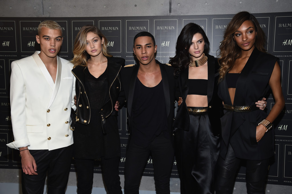 Jourdan Dunn attends the BALMAIN X H&M Collection Launch