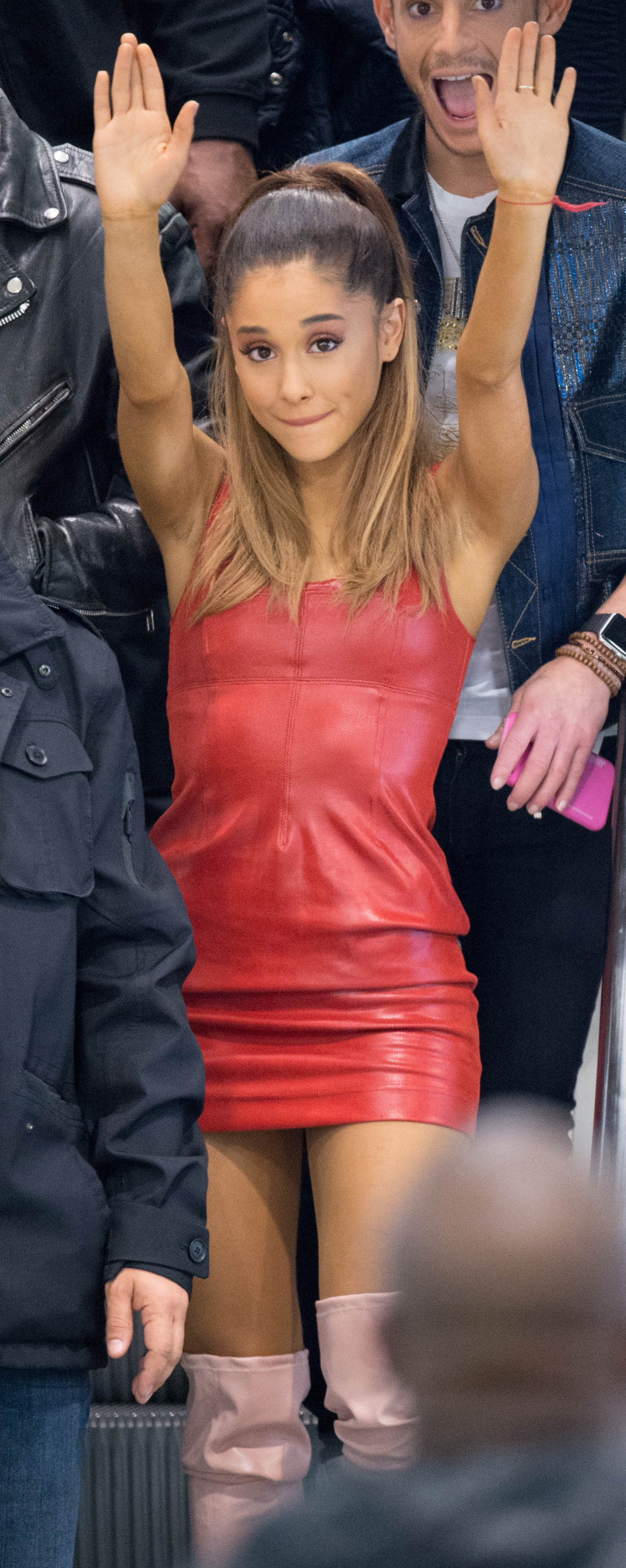 Ariana Grande attends Ari by Ariana Grande Launch Party