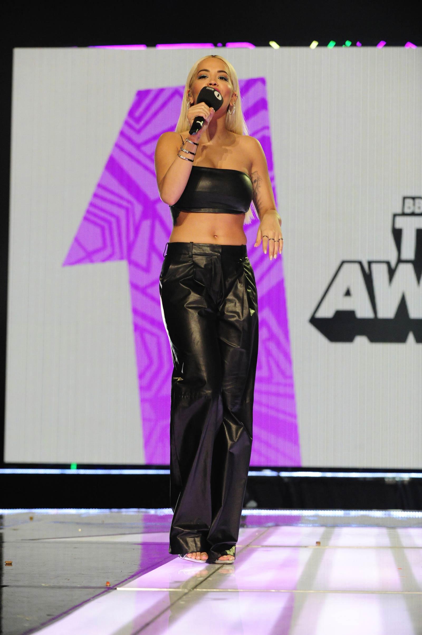 Rita Ora attends BBC Teen Awards