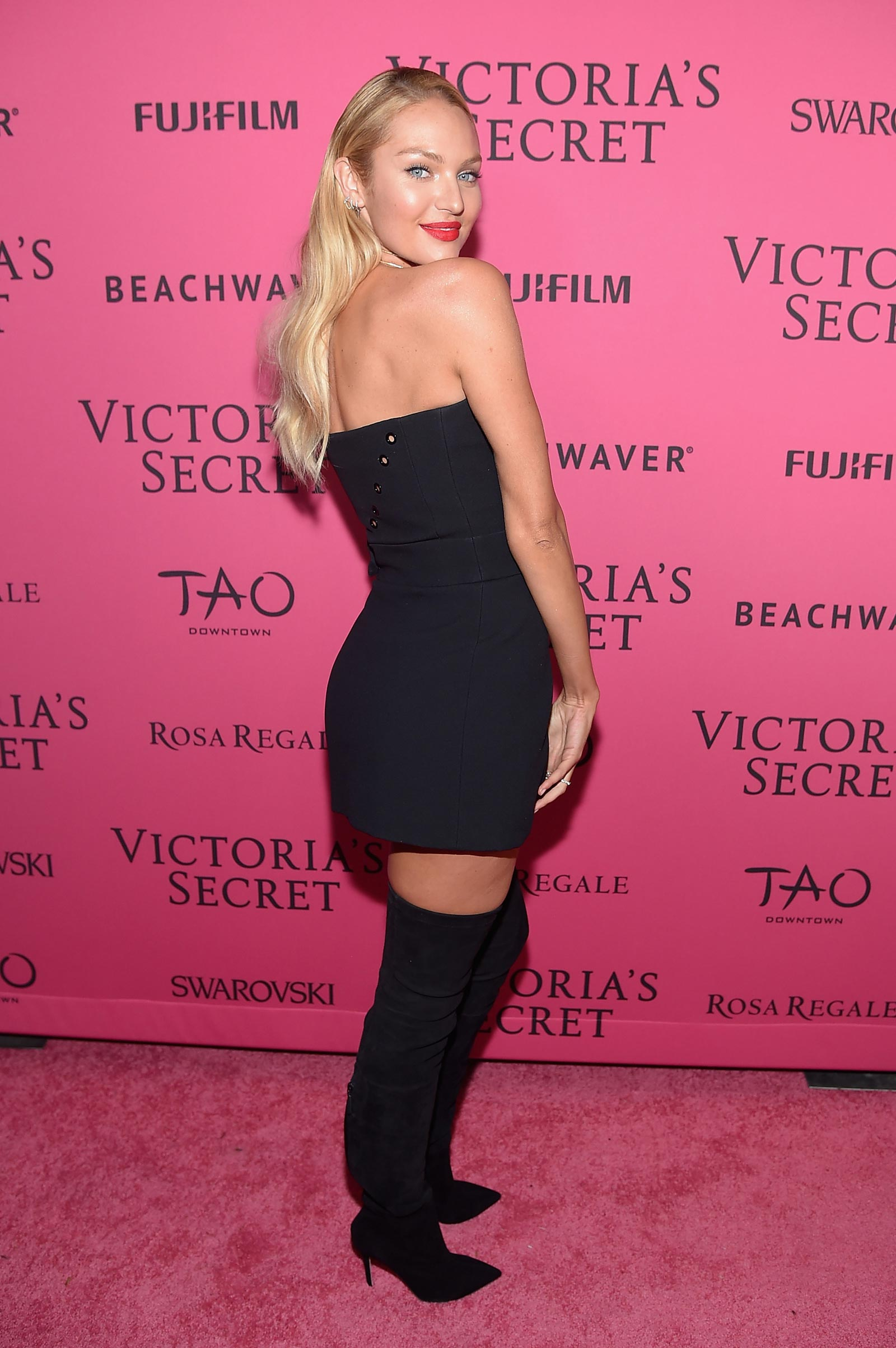 Candice Swanepoel attends 2015 VS Fashion Show After Party