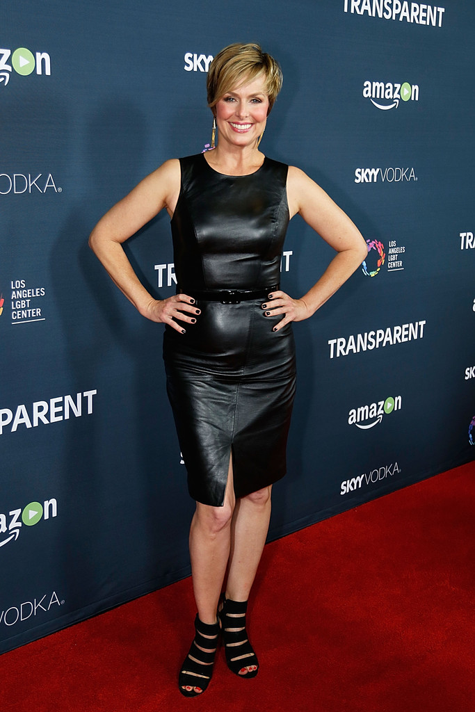 Melora Hardin arrives to the premiere of Amazon's Transparent