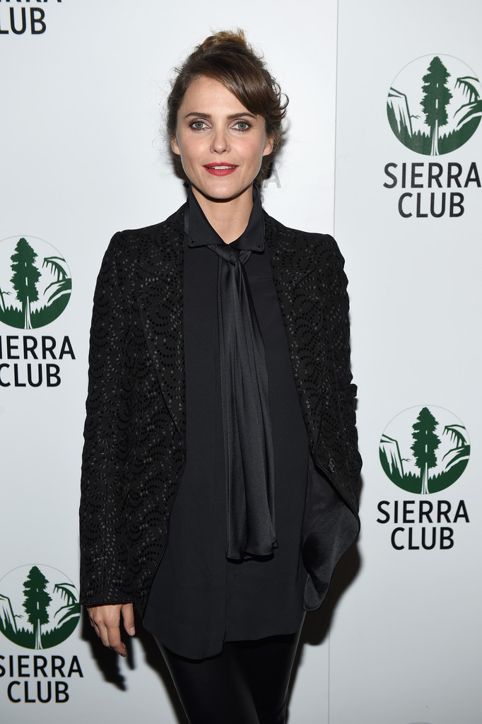 Keri Russell attends Sierra Club's Act in Paris