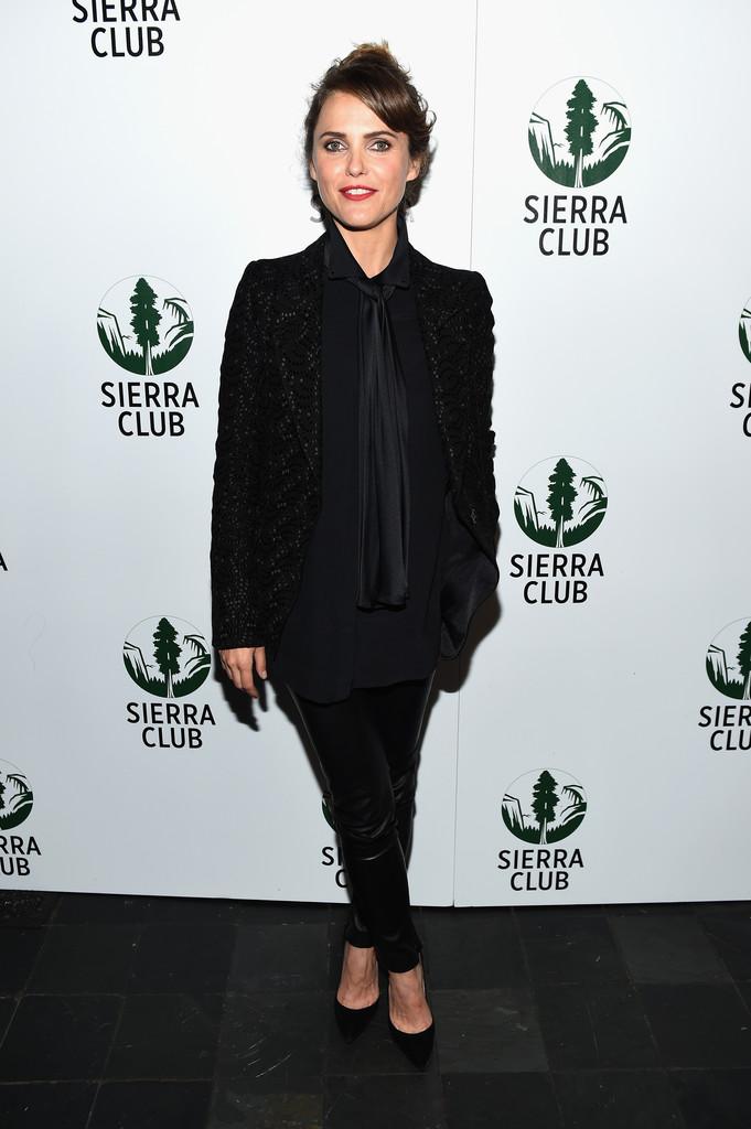 Keri Russell attends Sierra Club's Act in Paris