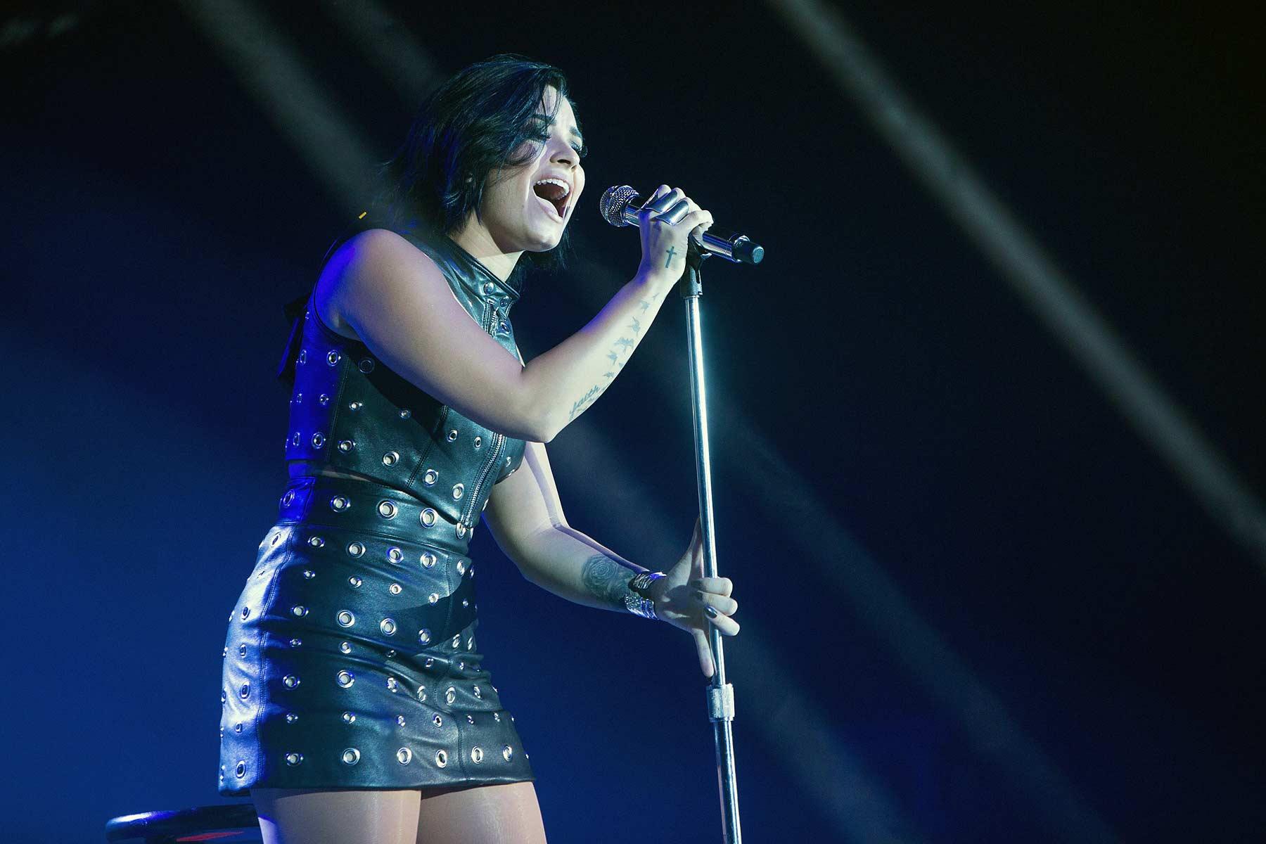Demi Lovato performs at 106.1 KISS FM's Fall Ball