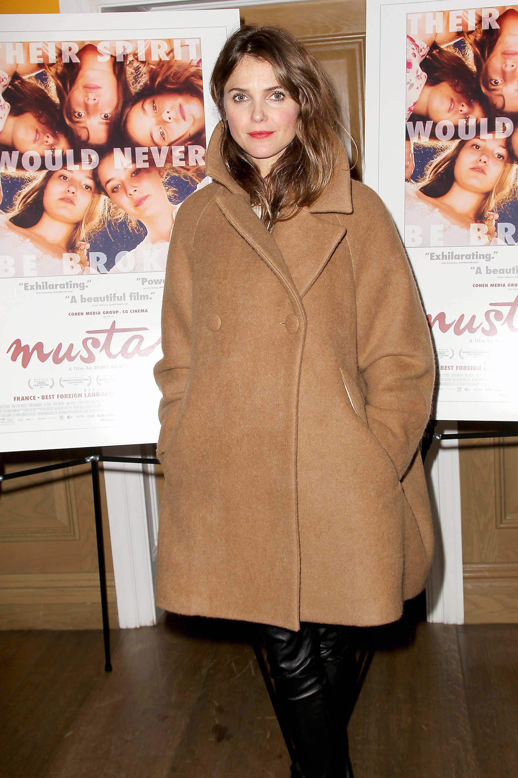 Keri Russell attends A Special Screening of Mustang