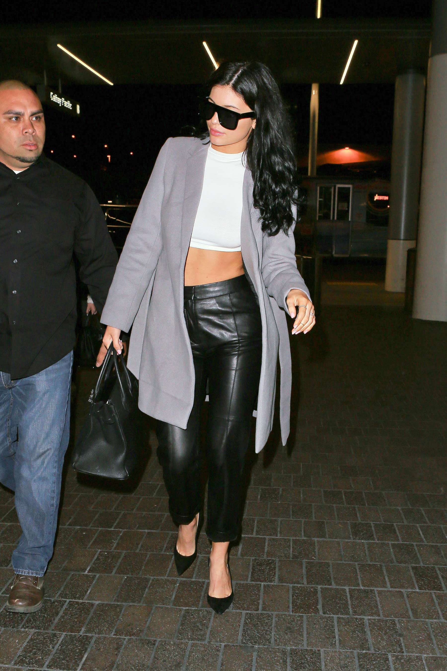 Kylie Jenner at LAX