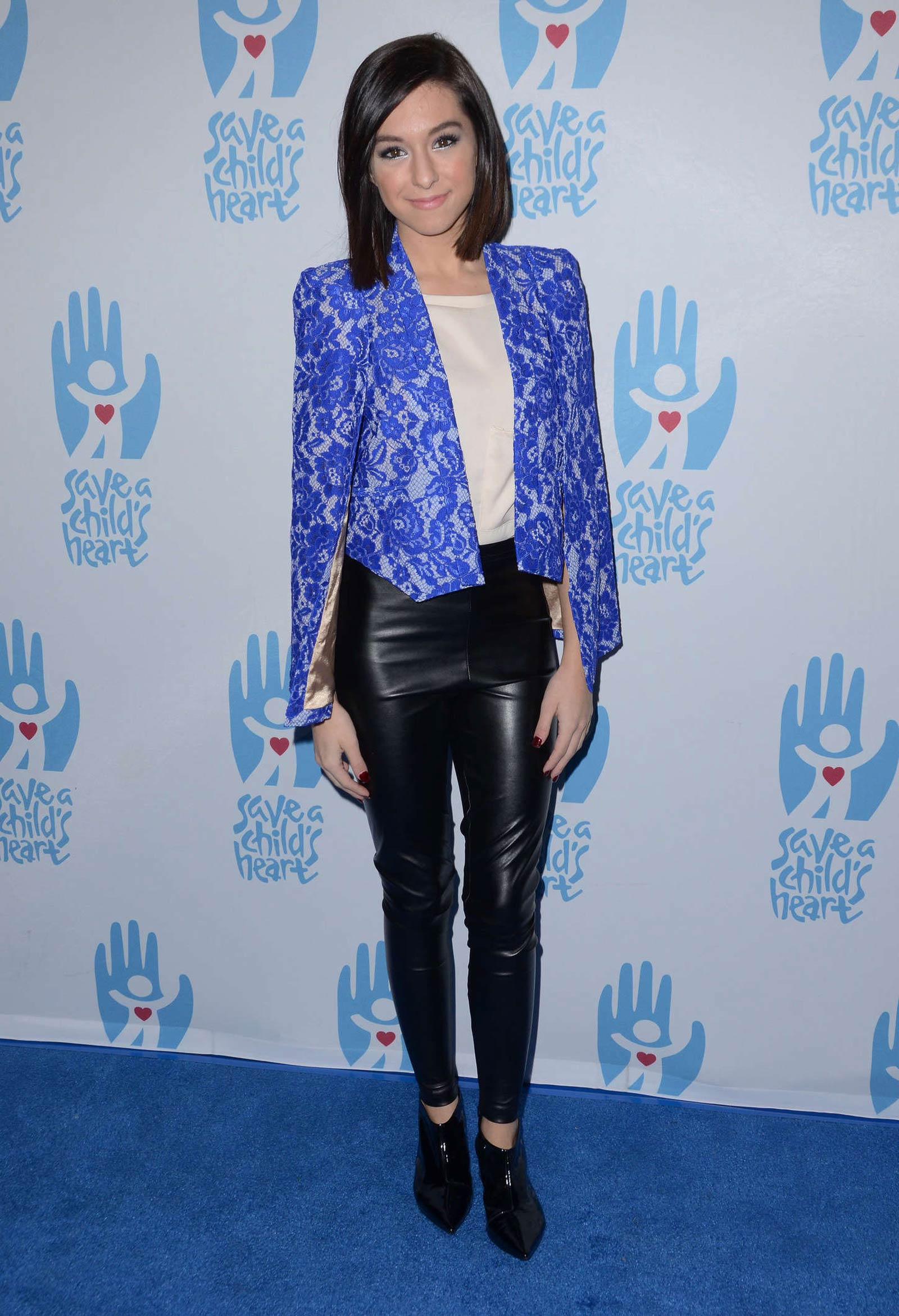 Christina Grimmie attends 2nd Annual Save a Child's Heart Gala