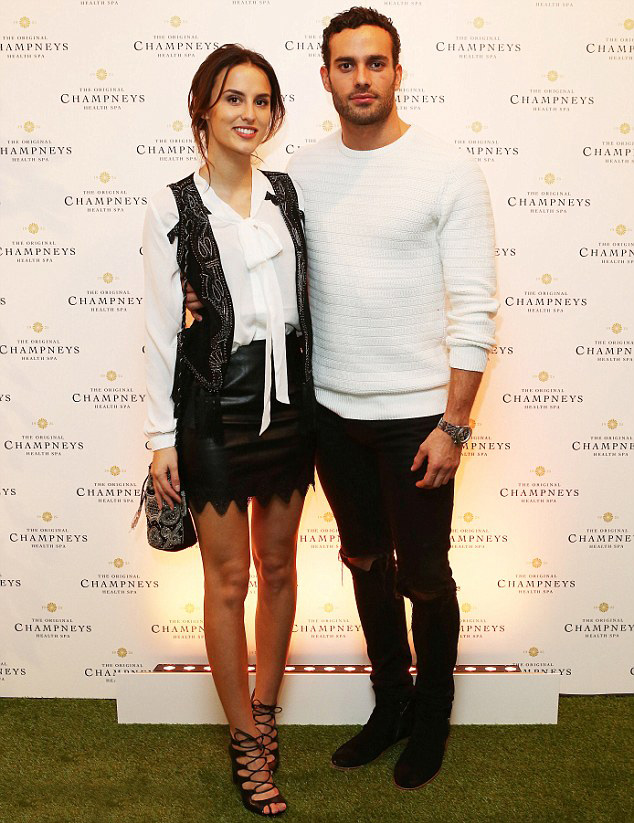 Lucy Watson attends Champneys immersive mood enhancing exhibition
