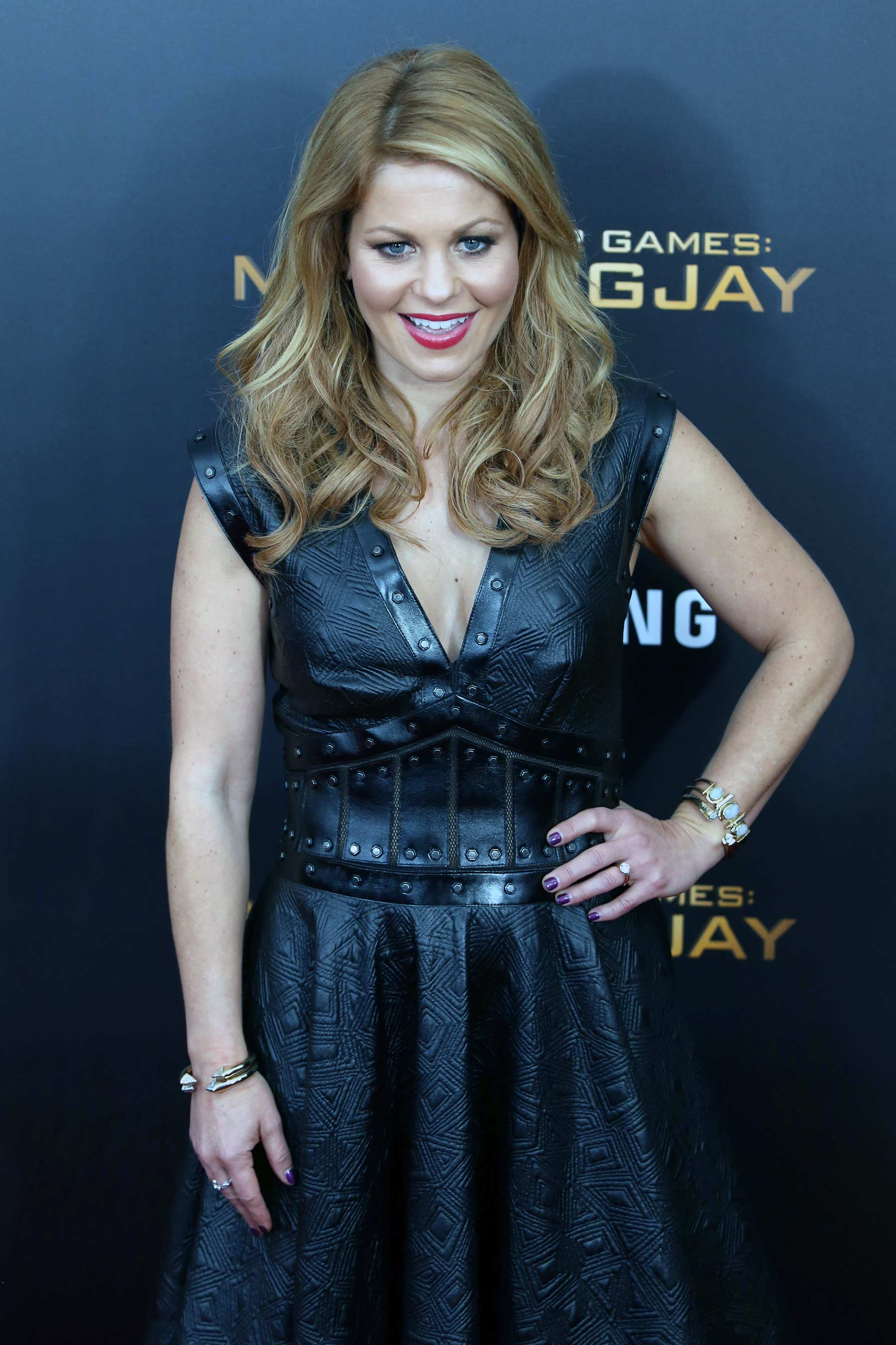 Candace Cameron Bure Photos >> Candace Cameron Bure attends NY Screening oo The Hunger Games Mockingjay, Part 2