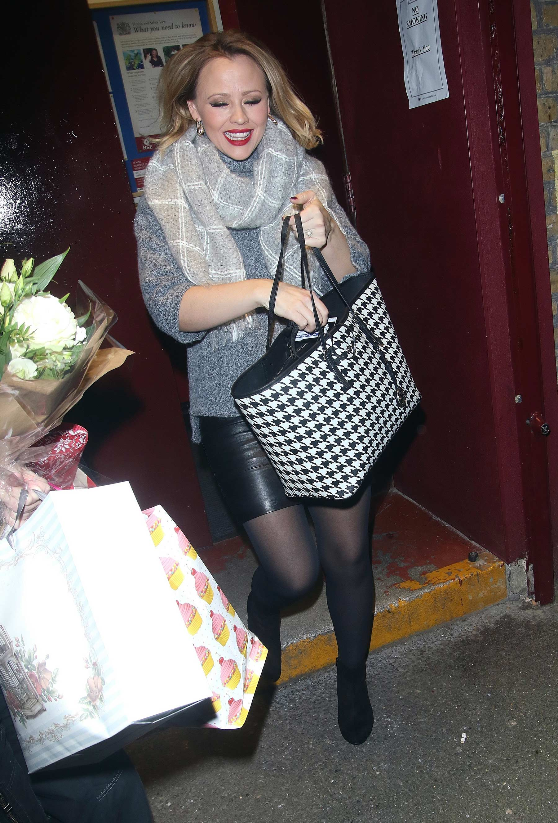 Kimberley Walsh leaving Elf Show