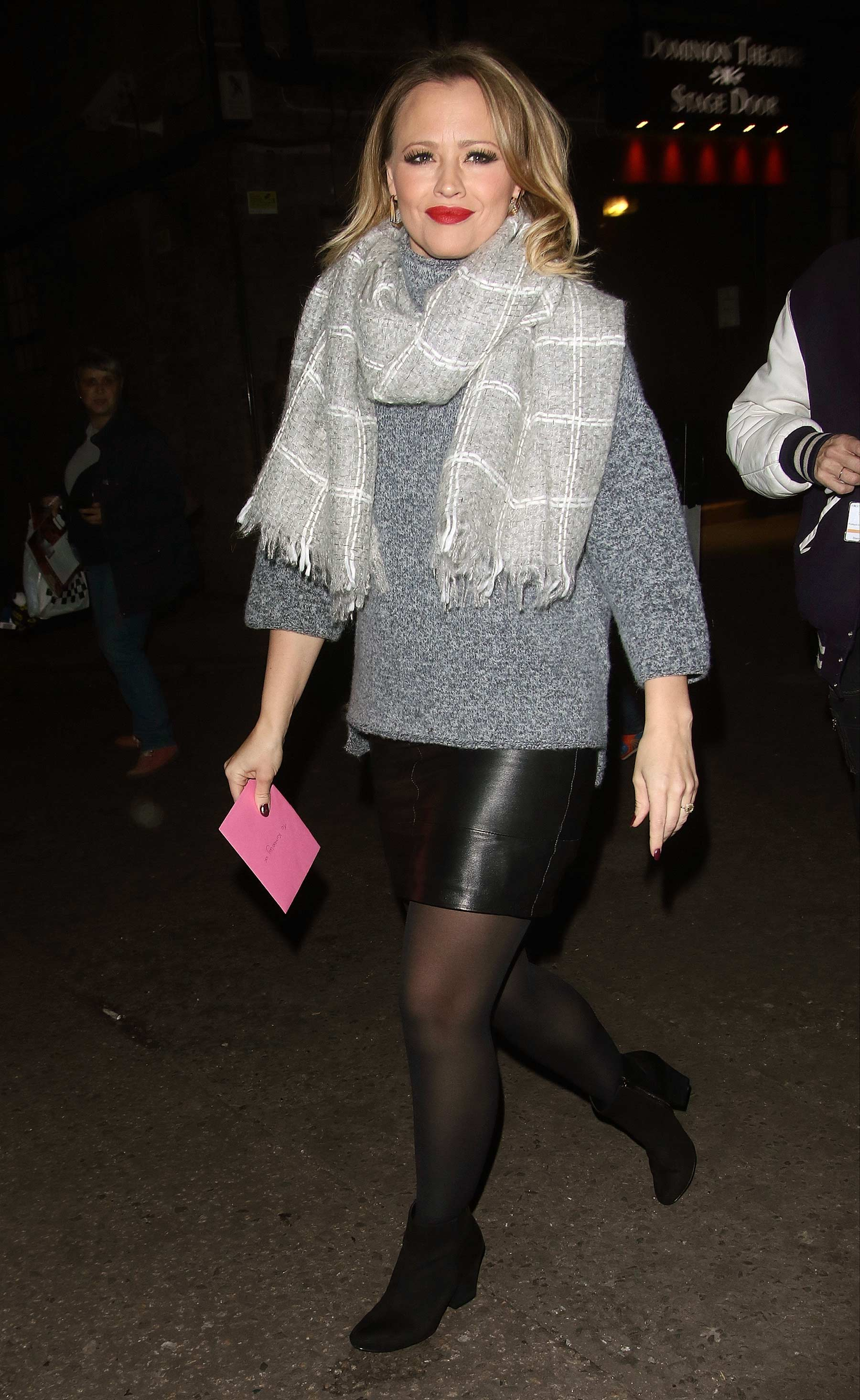 Kimberley Walsh leaving Elf Show