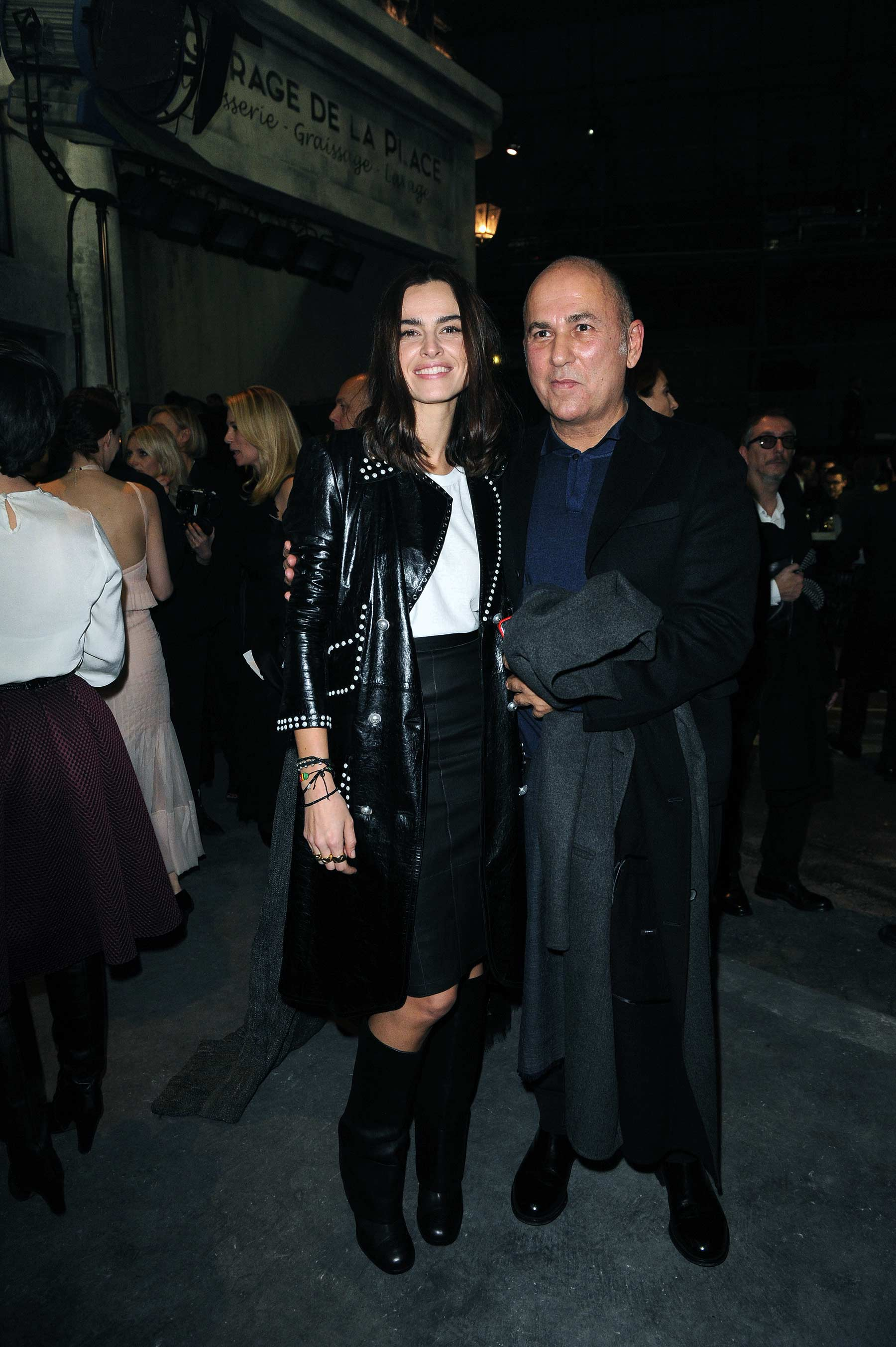 Kasia Smutniak attends Chanel Metiers d'Art 2015/16 Fashion Show