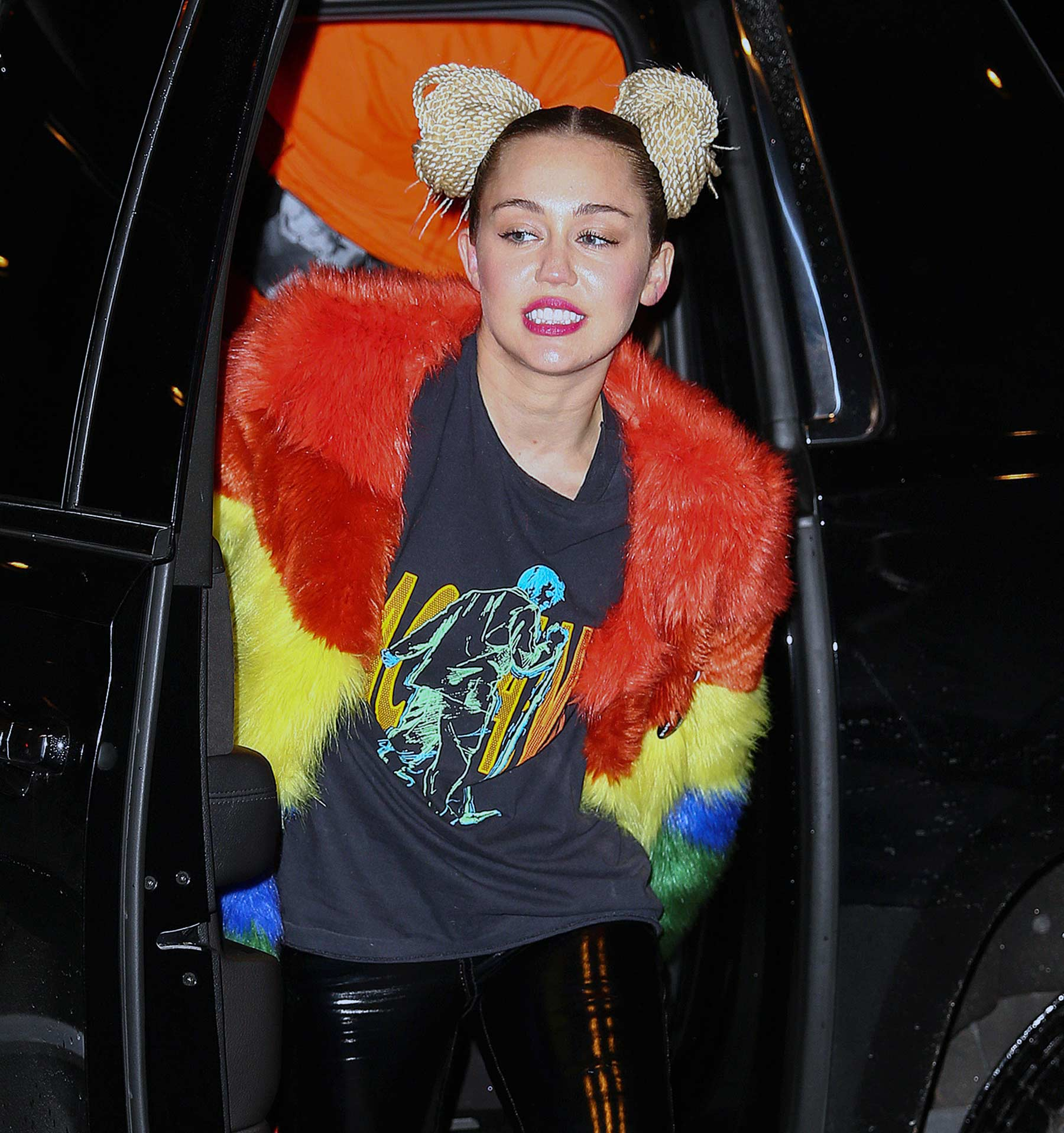 Miley Cyrus sighted in New York City