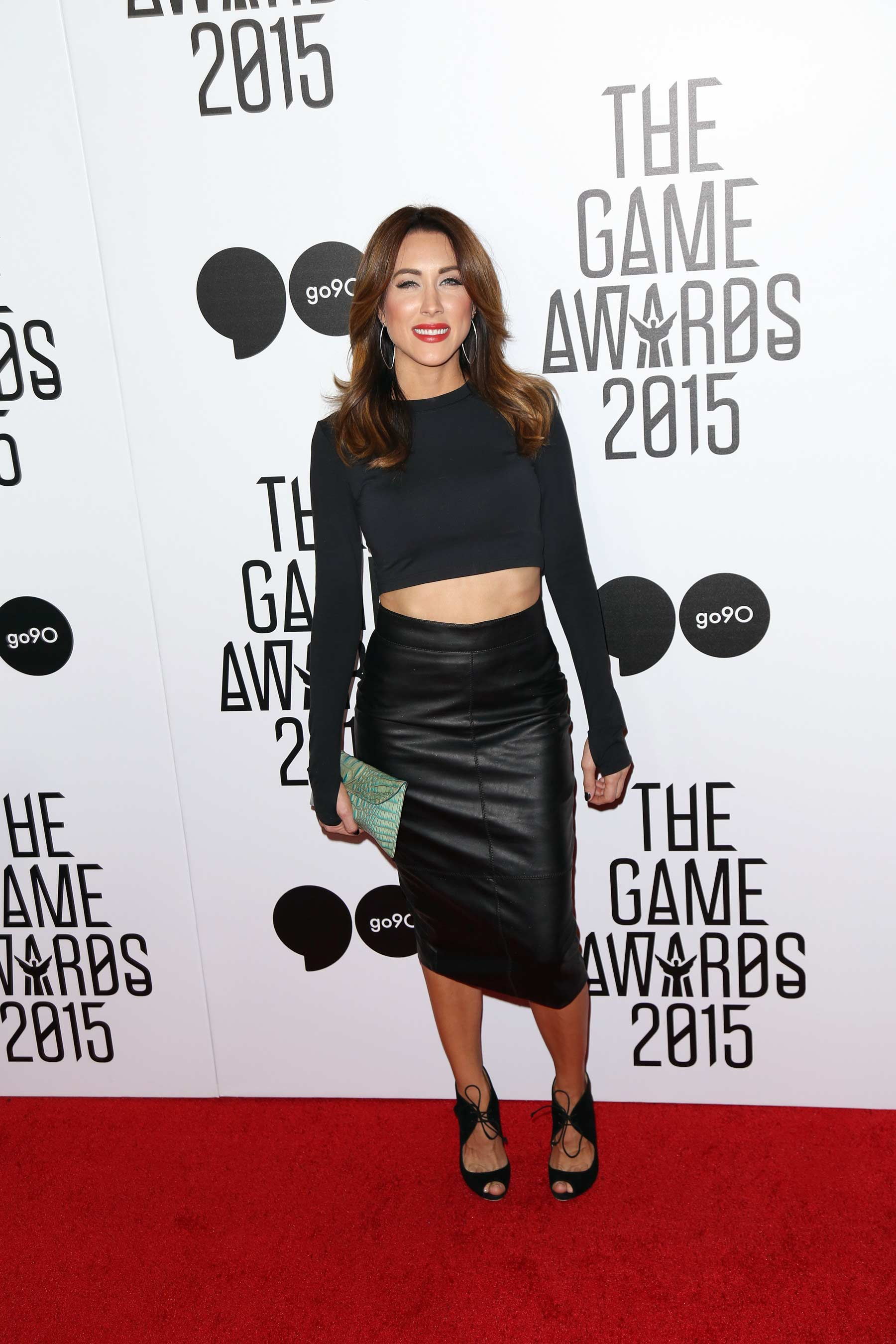 Erin Coscarelli attends The Game Awards 2015