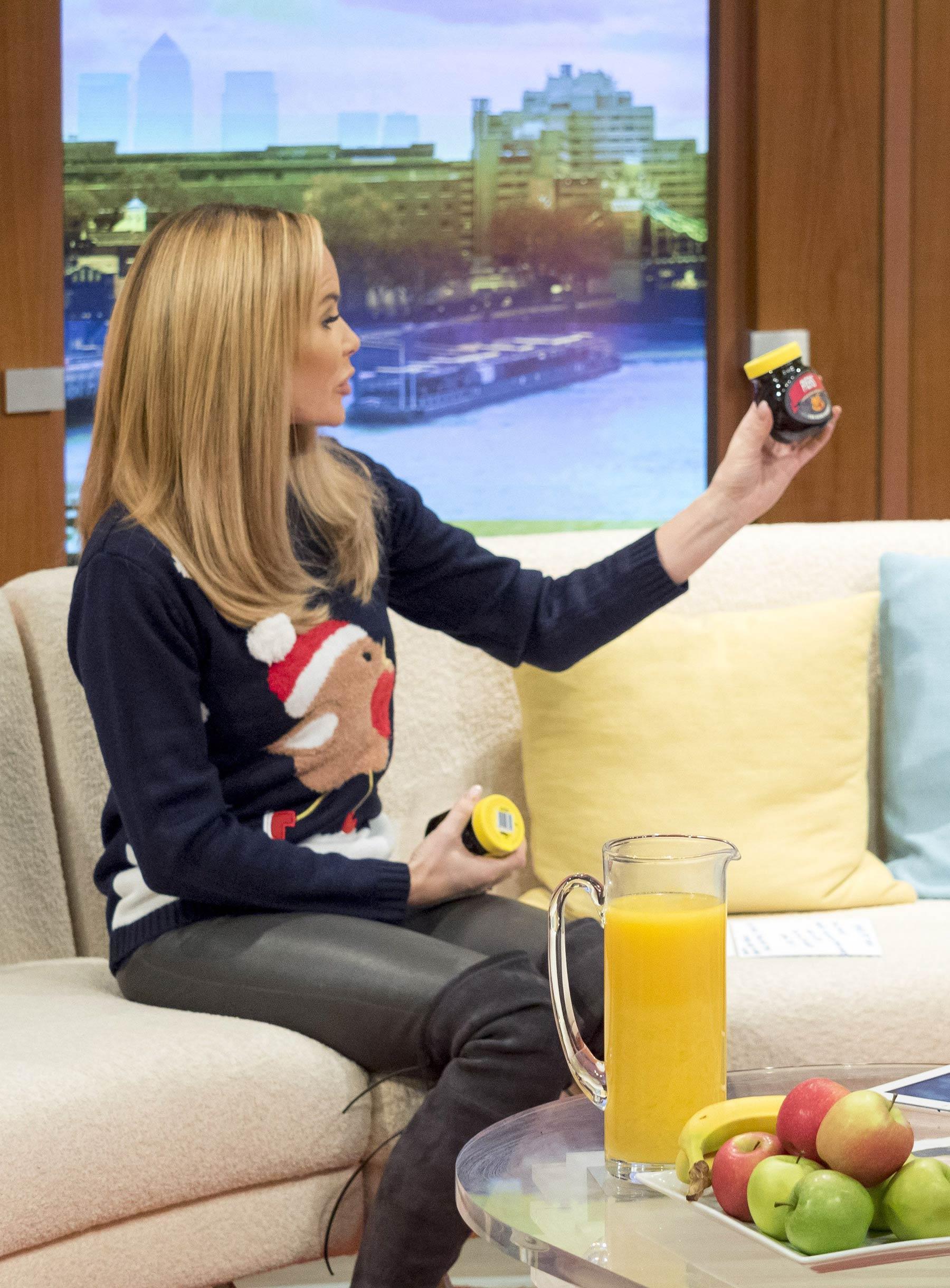 Amanda Holden at Good Morning Britain