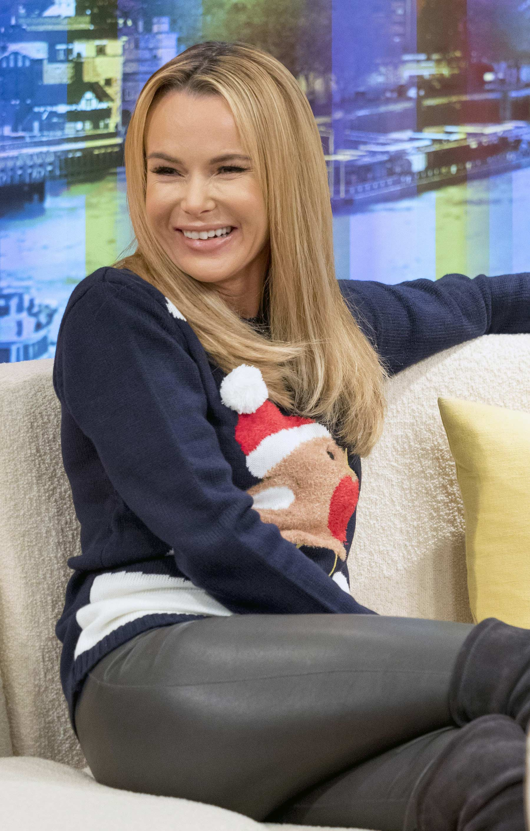 Amanda Holden at Good Morning Britain