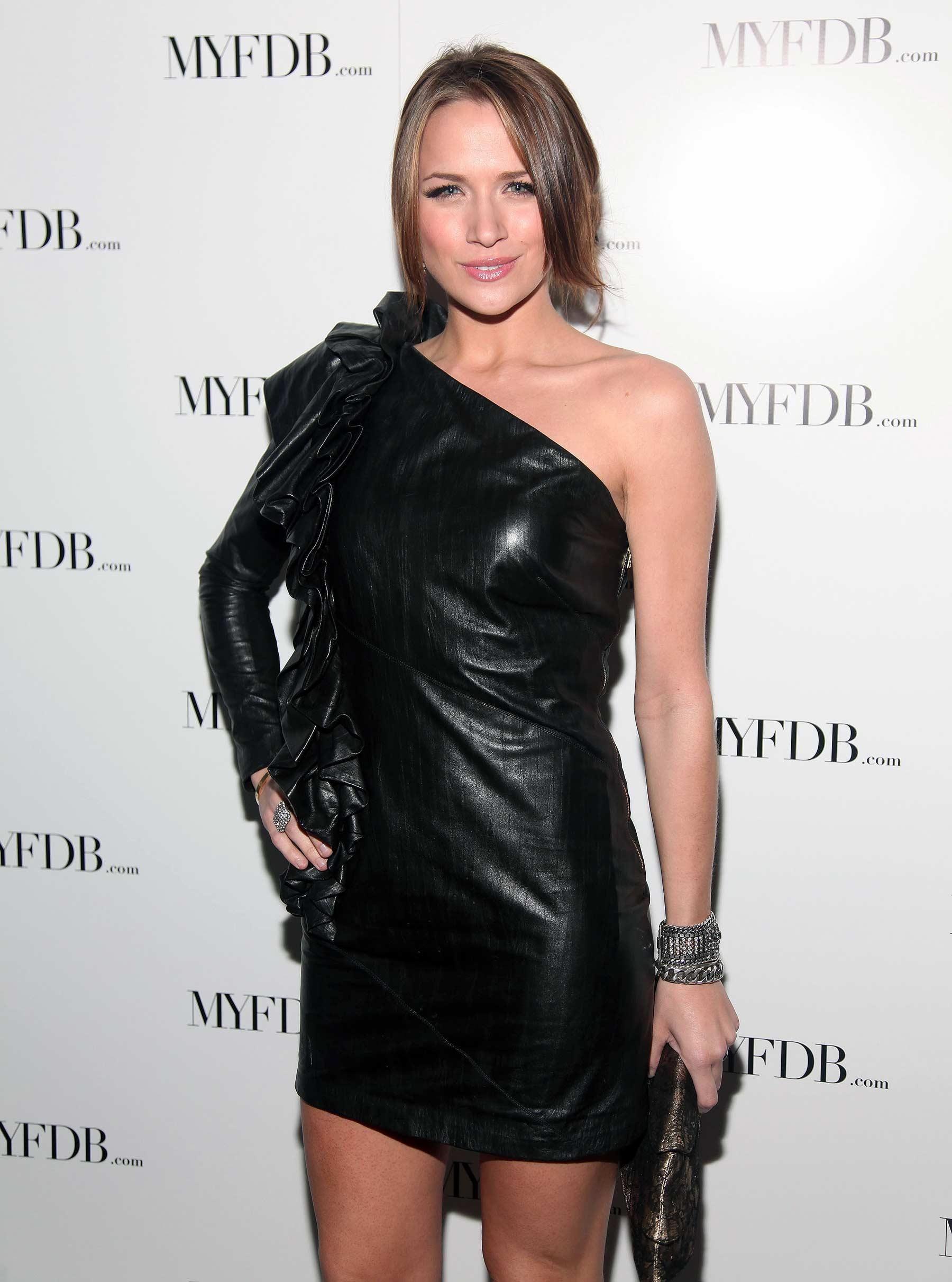 Shantel VanSanten attends My Fashion Database Fashion Show