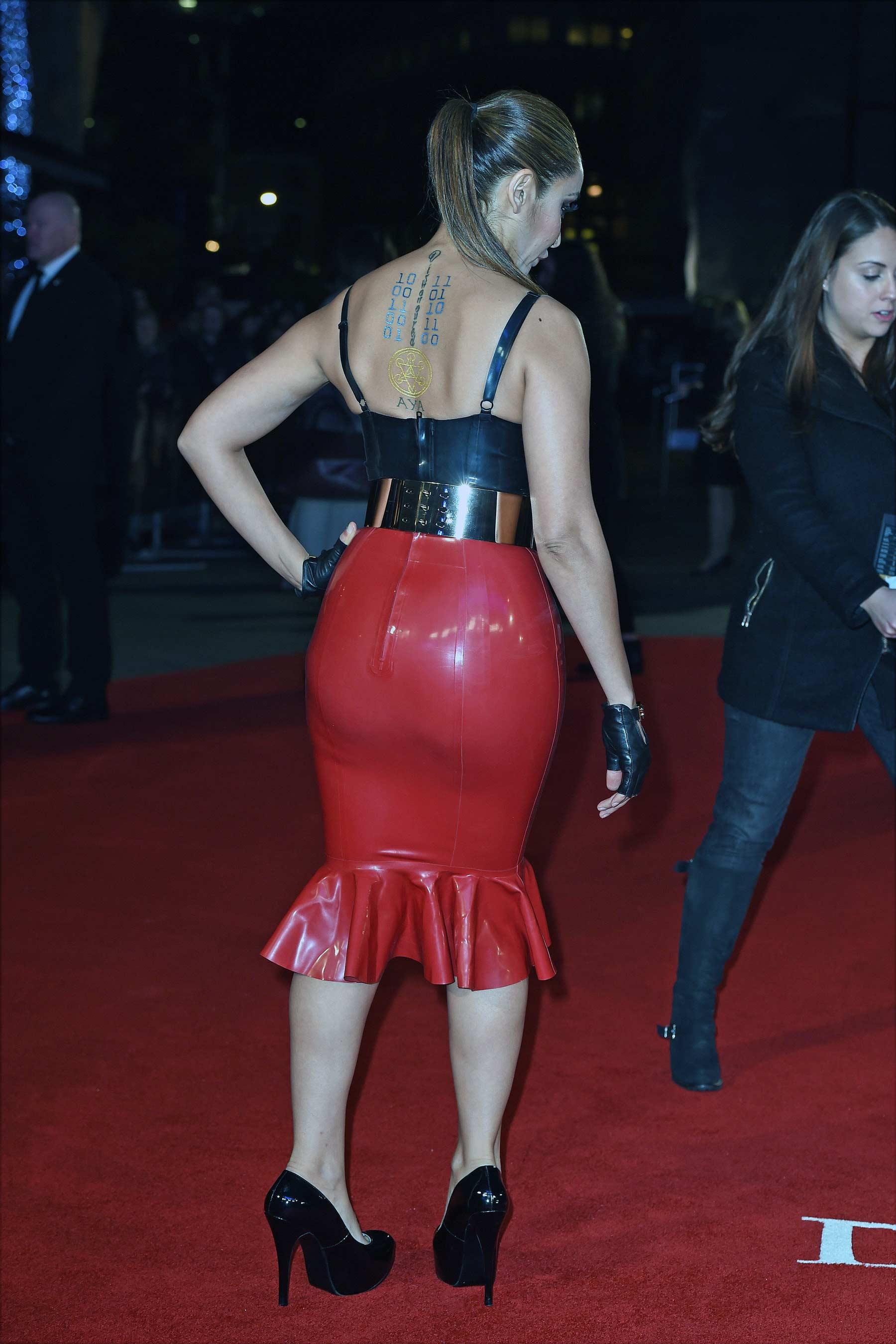 Sofia Hayat at The Danish Girl UK Premiere