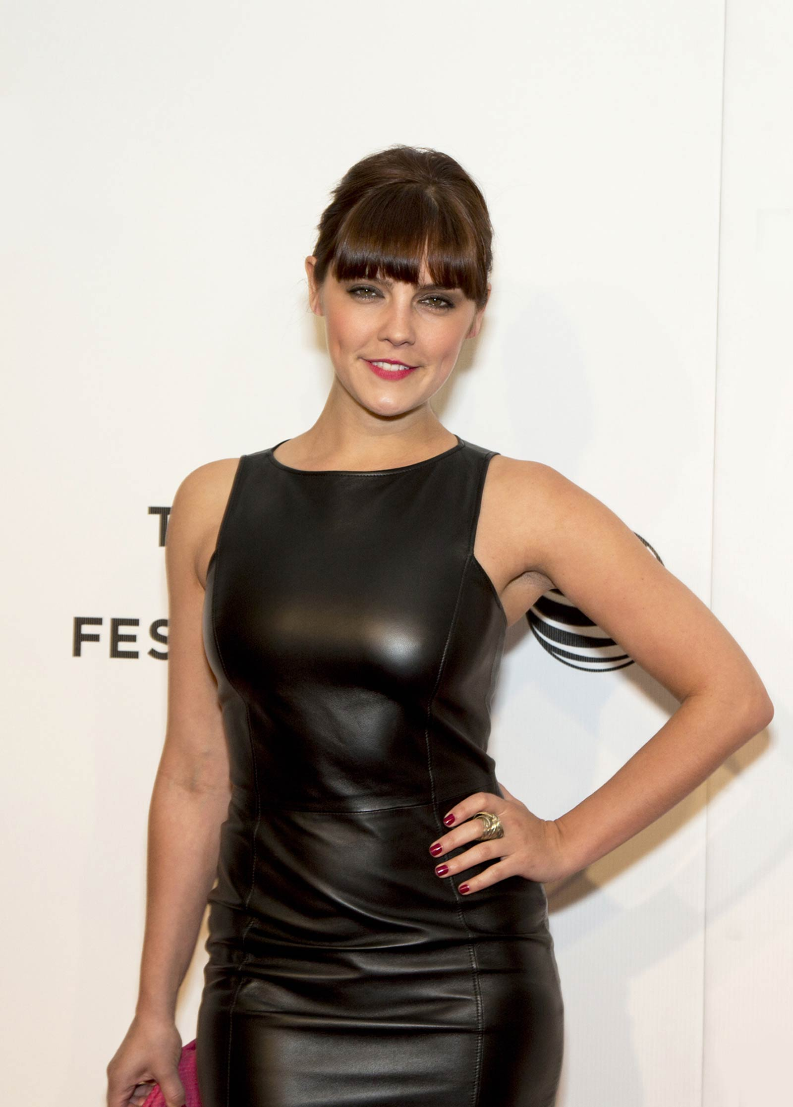 Annabel Scholey attends Tribeca Film Festival